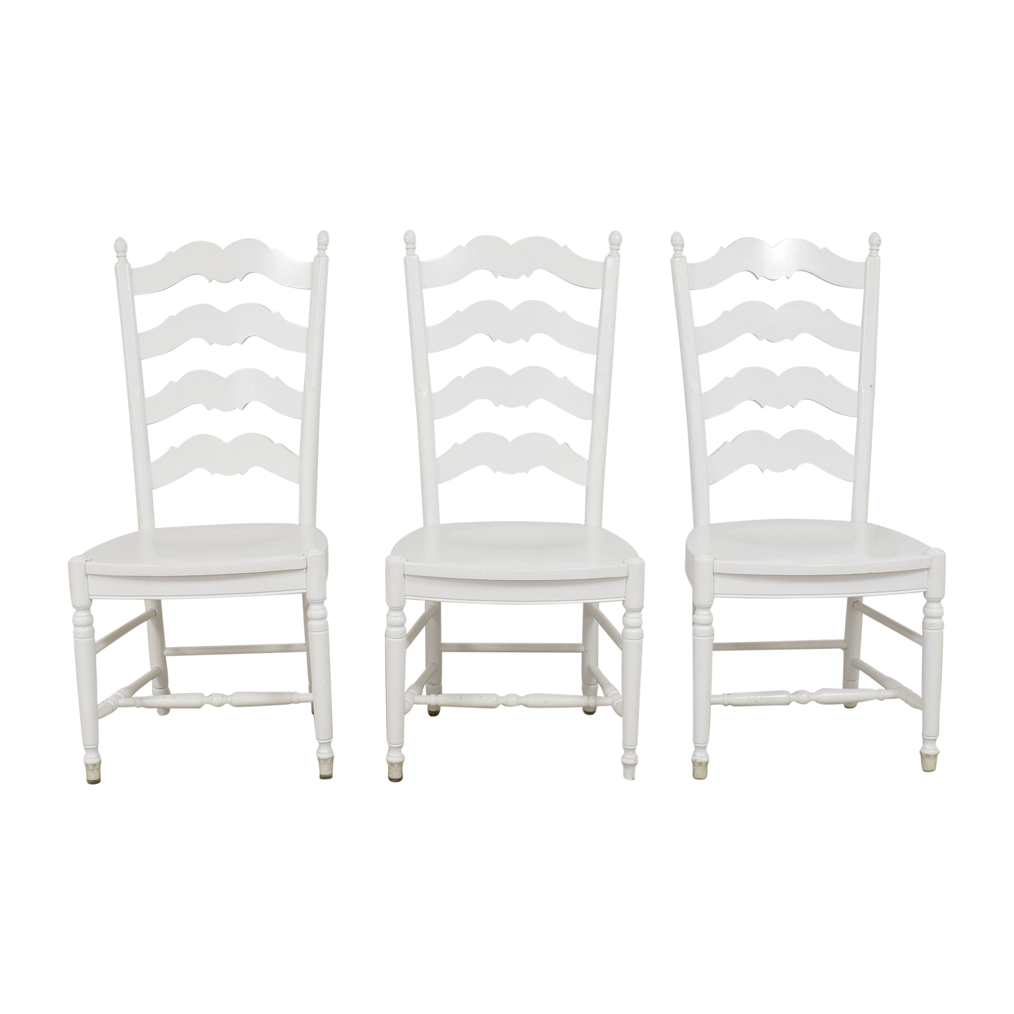 buy Country Willow Ladder Back Dining Side Chairs Country Willow Dining Chairs