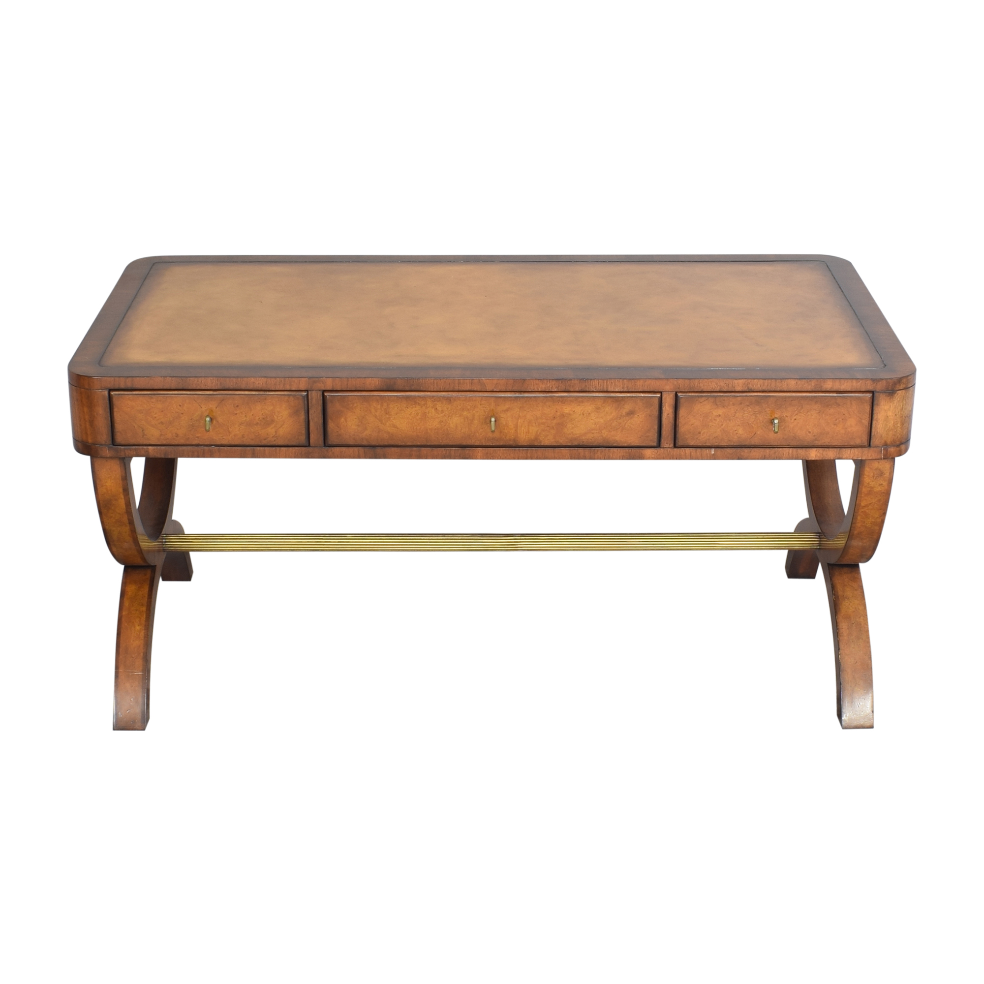 Lillian August Lillian August for Hickory White Piers Writing Desk brown