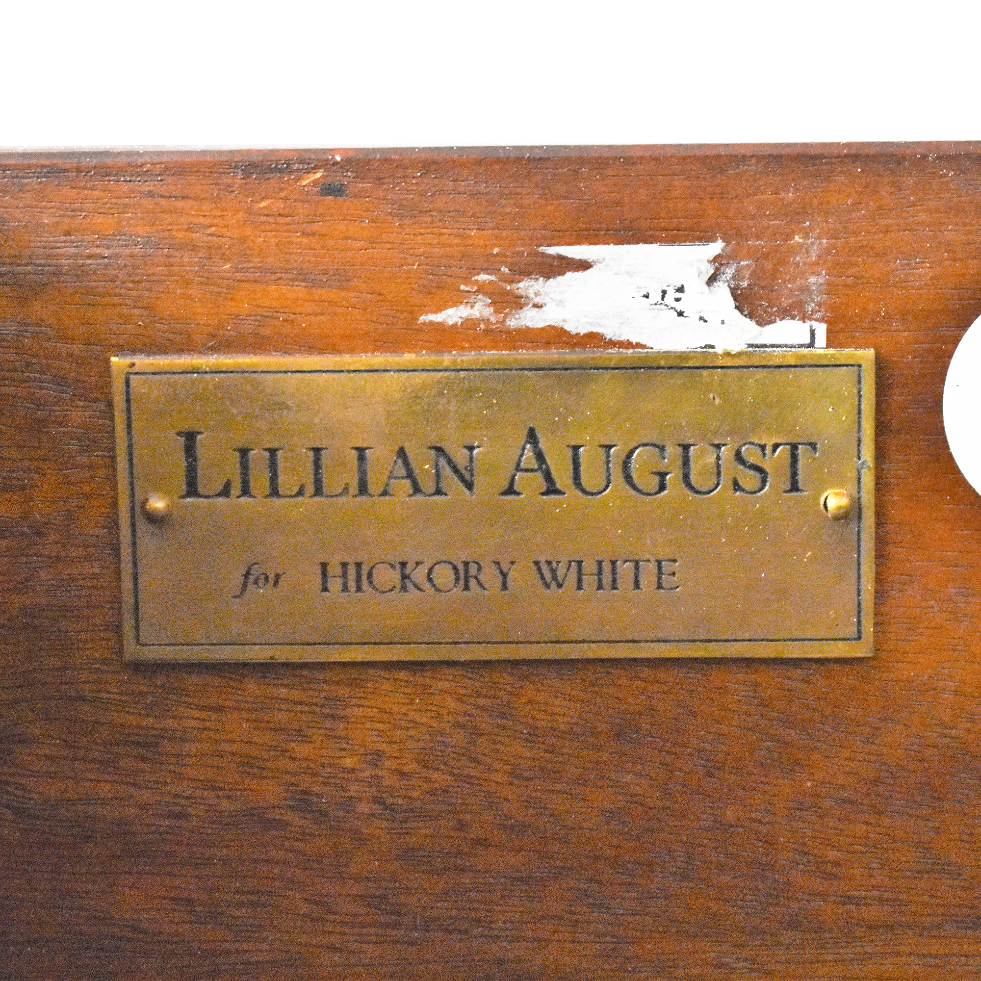 shop Lillian August for Hickory White Piers Writing Desk Lillian August Tables