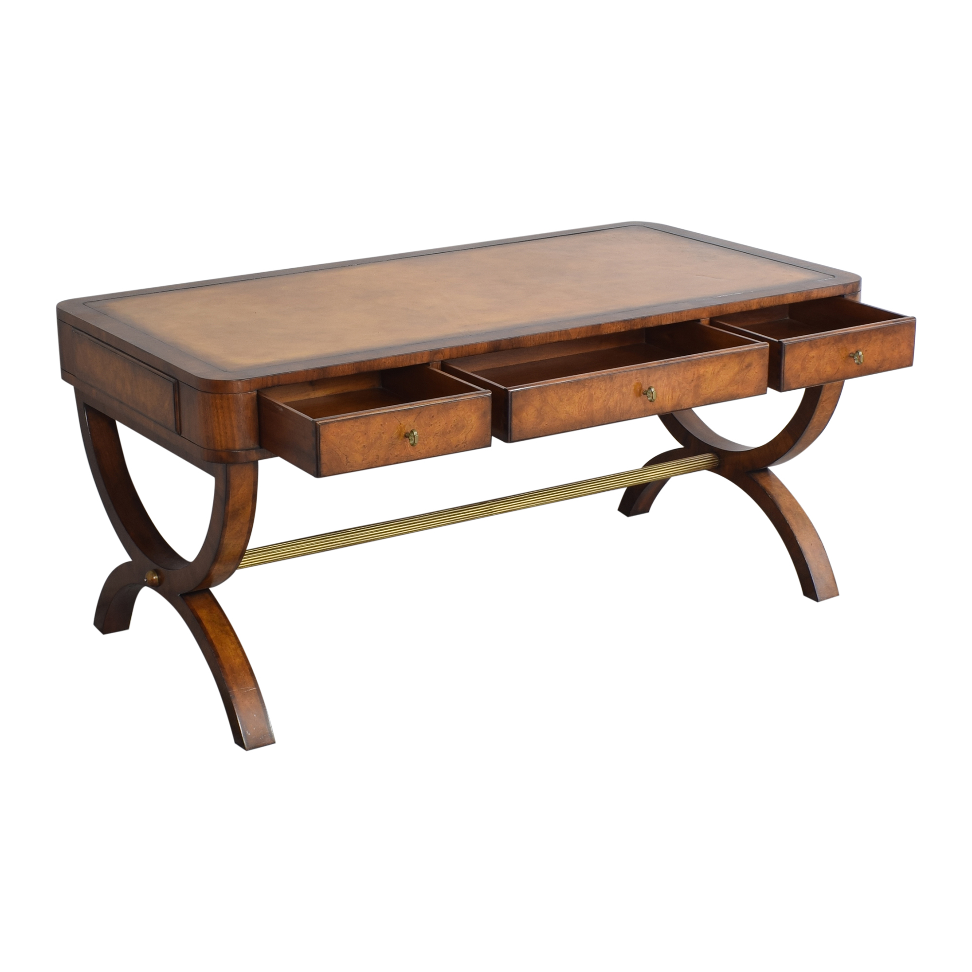 buy Lillian August for Hickory White Piers Writing Desk Lillian August Tables