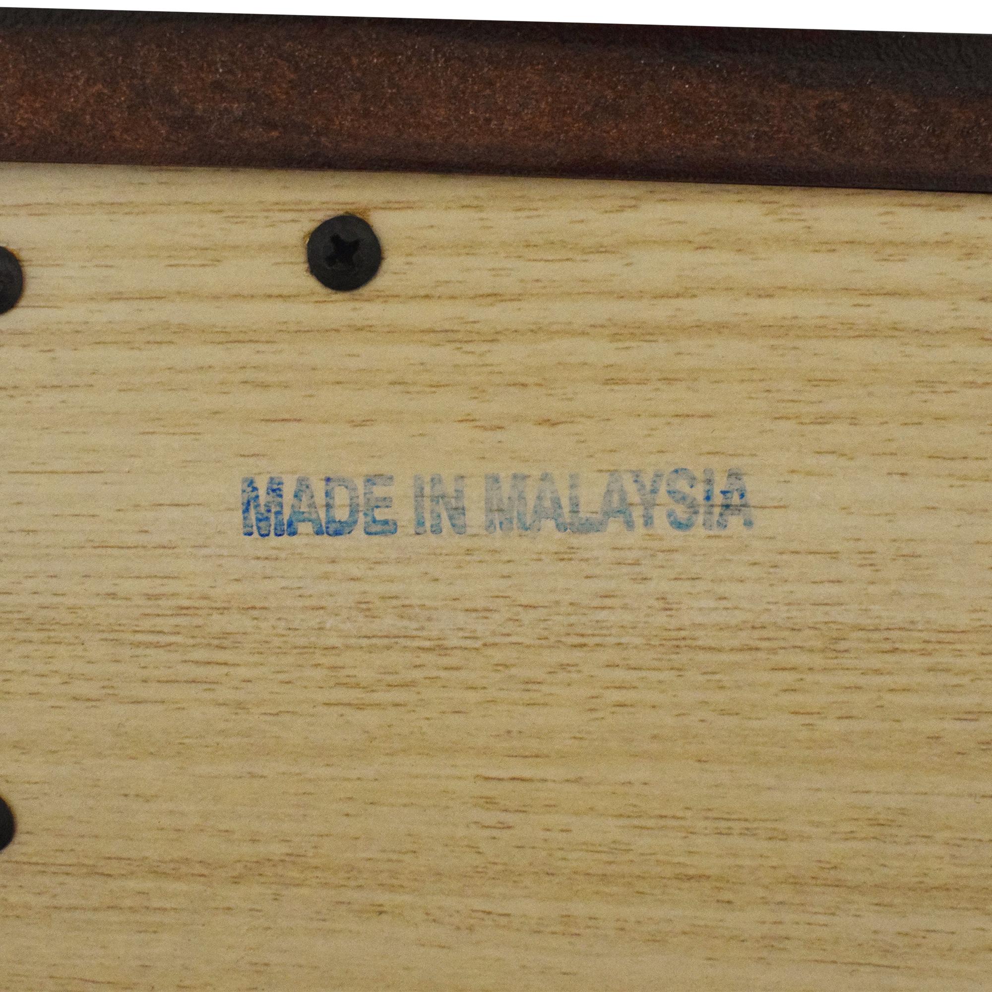 Baker Furniture Baker Furniture Two Drawer Nightstands brown