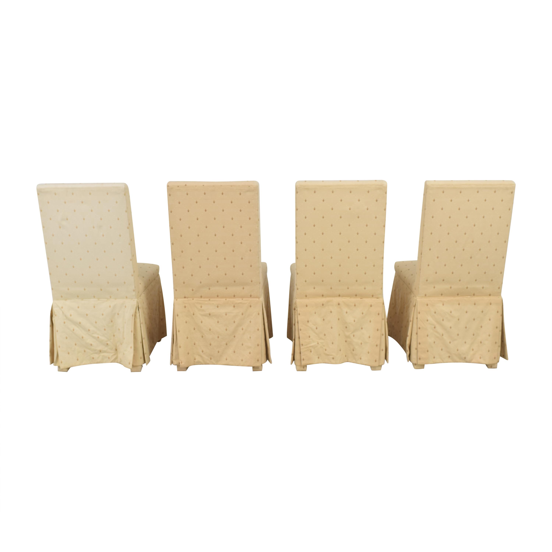 Ballard Designs Ballard Designs Fleur De Lis Parsons Dining Chairs Dining Chairs
