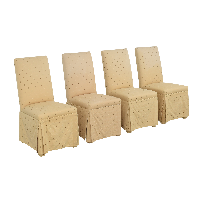 Ballard Designs Ballard Designs Fleur De Lis Parsons Dining Chairs