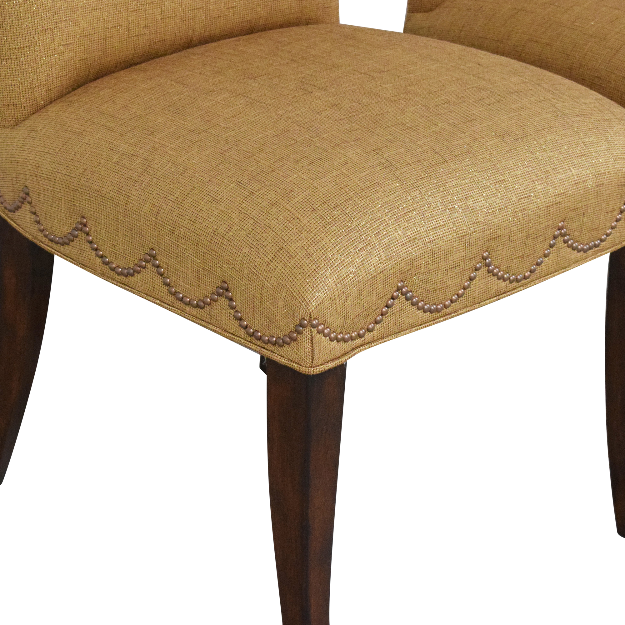 Furniture Brands International Scalloped Nailhead Dining Chairs / Dining Chairs
