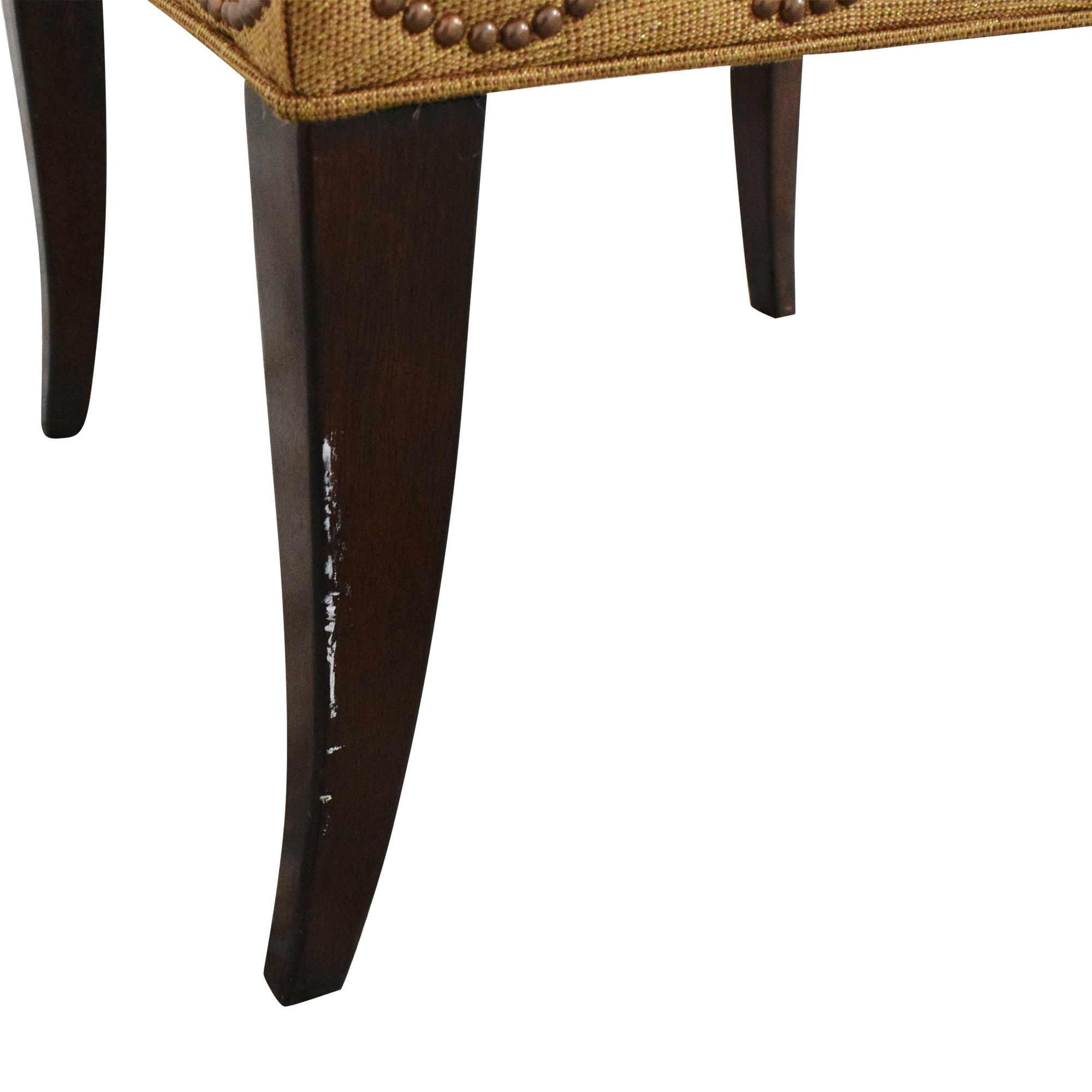 Furniture Brands International Scalloped Nailhead Dining Chairs Furniture Brands International