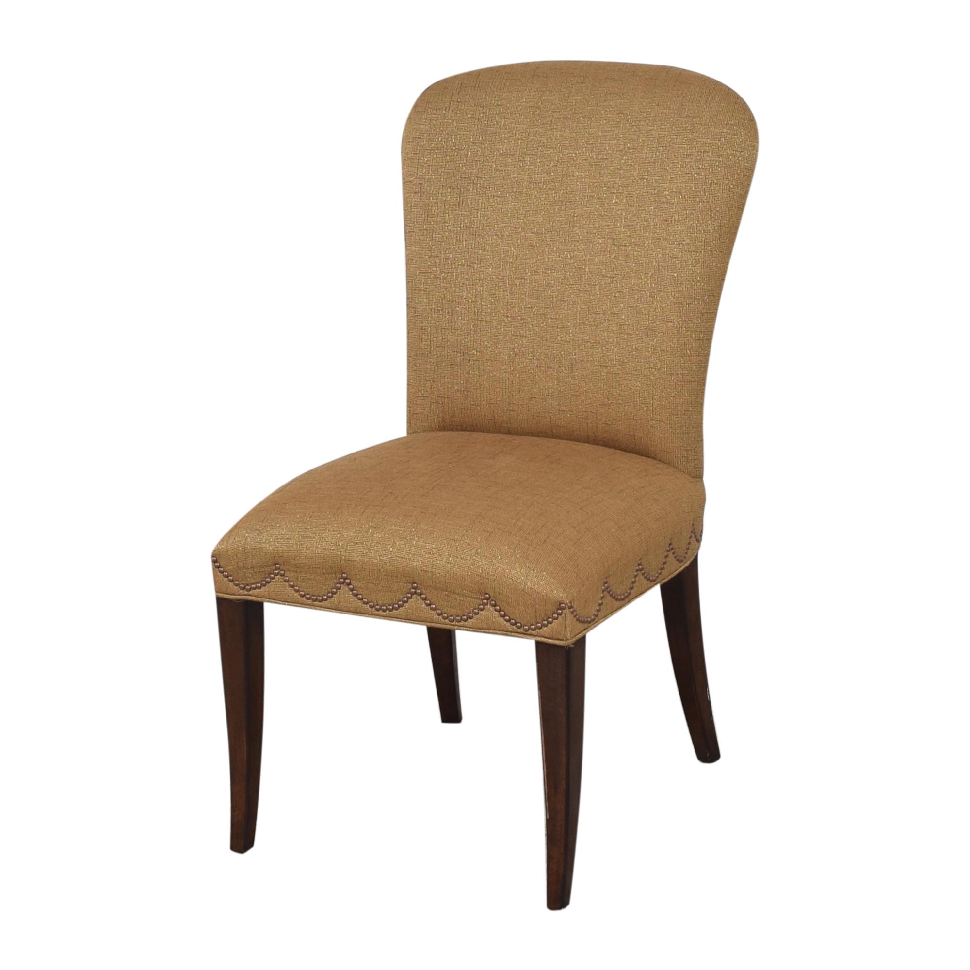 buy Furniture Brands International Furniture Brands International Scalloped Nailhead Dining Chairs online