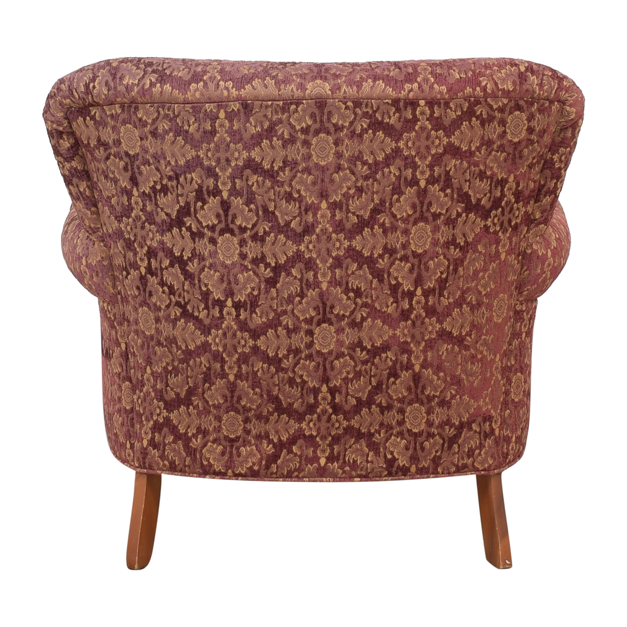 Roll Arm Accent Chair