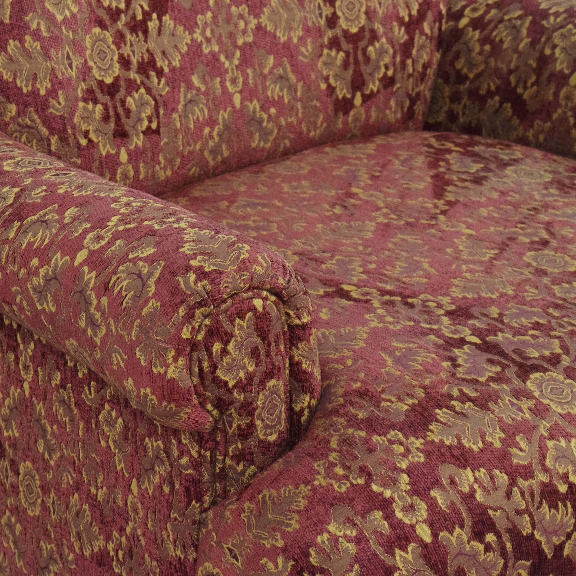 Roll Arm Accent Chair coupon
