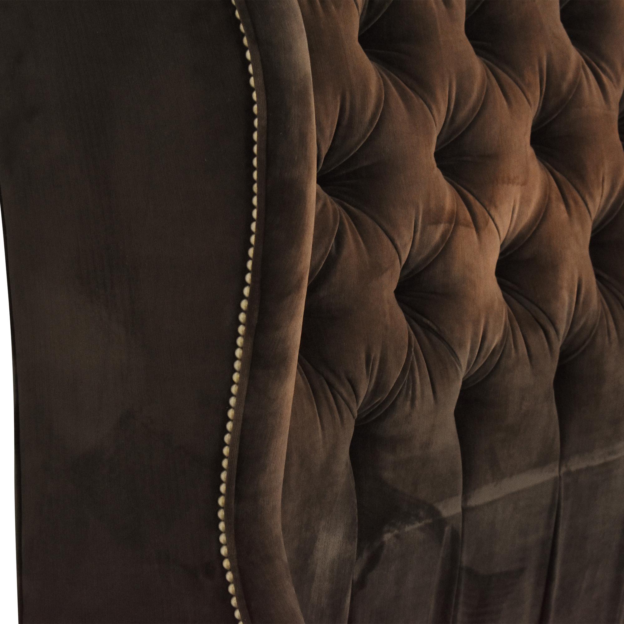 Arhaus Arhaus Barrister Tufted Queen Bed discount