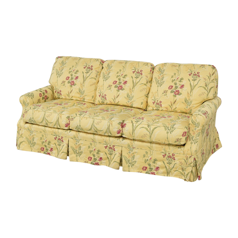 Wesley Hall Wesley Hall Skirted Floral Sofa price