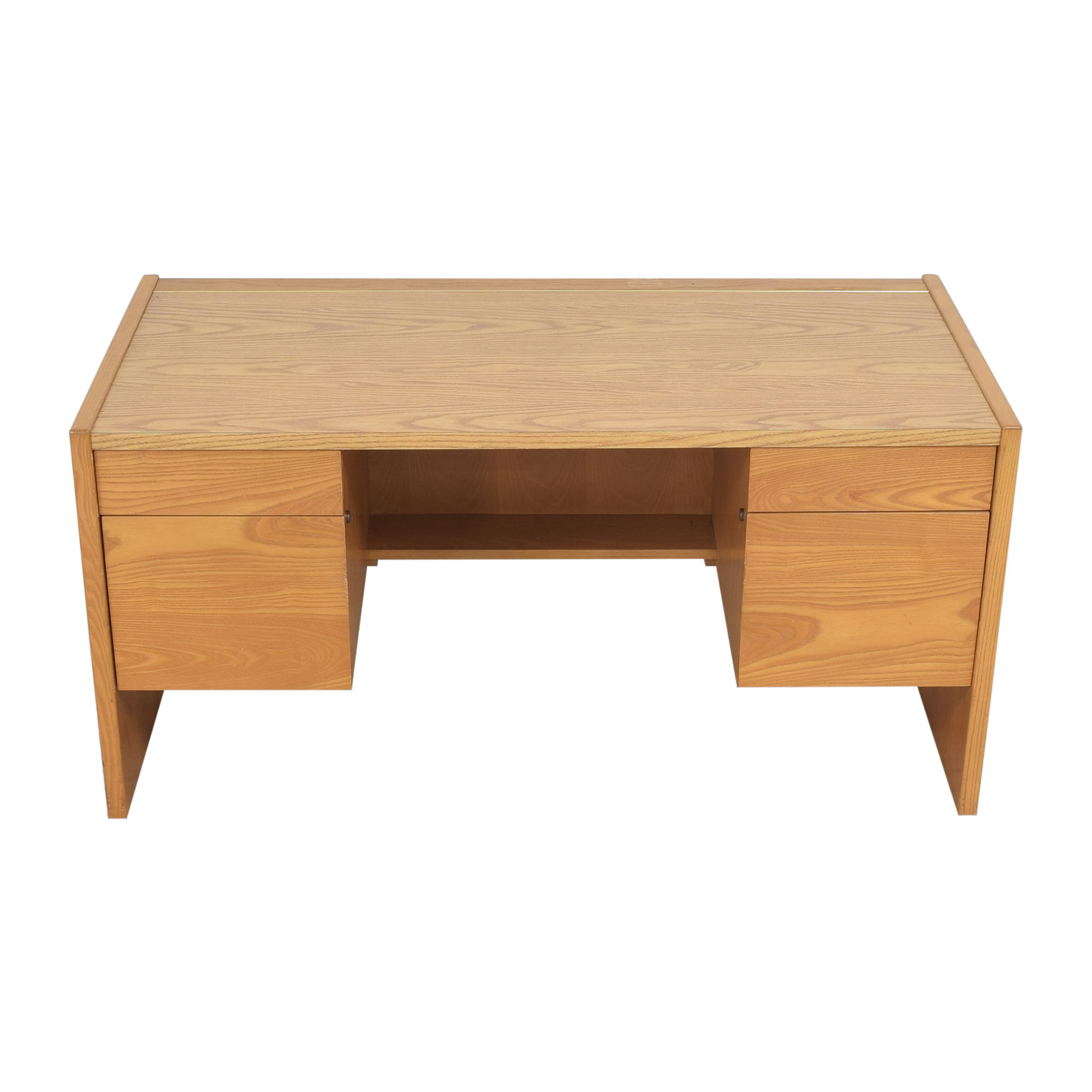 Boling Furniture Boling Executive Desk light brown