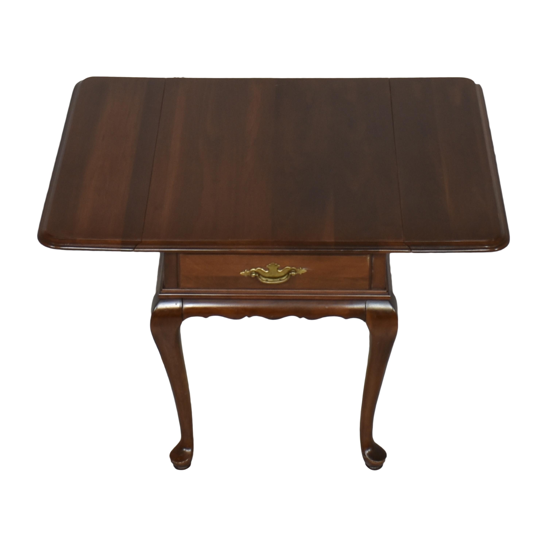 shop Ethan Allen Ethan Allen Georgian Court Queen Anne Drop Leaf Side Table online