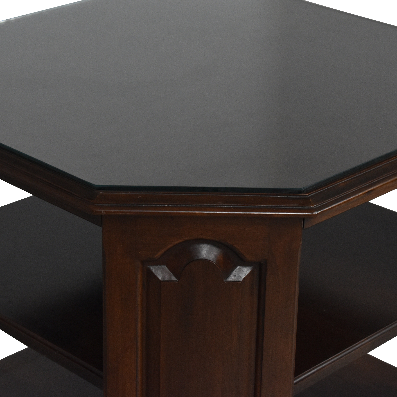 Ethan Allen Ethan Allen Heirloom Octagonal End Table for sale