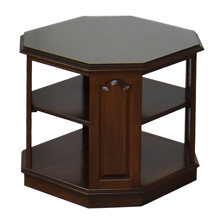 Ethan Allen Ethan Allen Heirloom Octagonal End Table discount