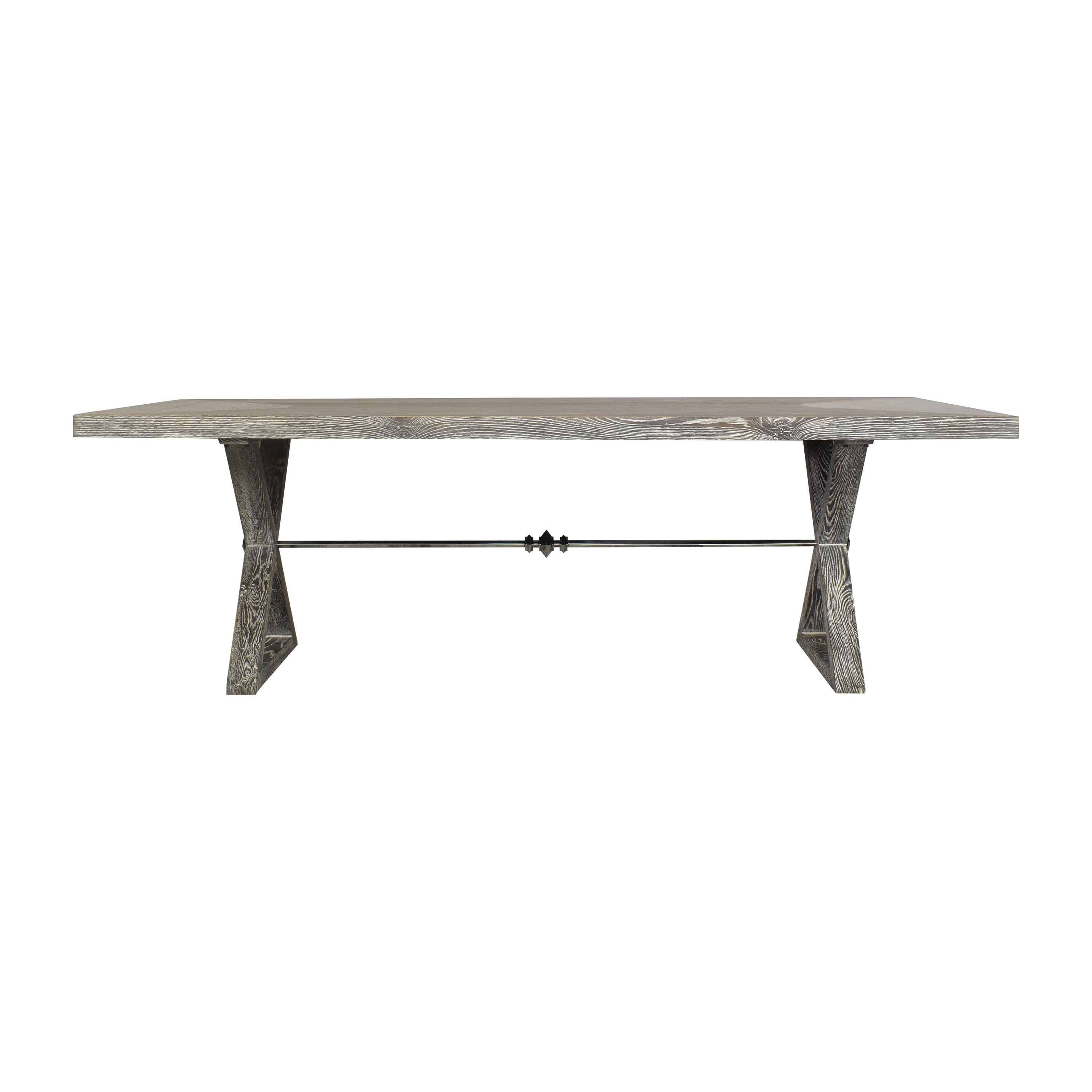 buy Interlude Home Trestle Dining Table Interlude Home Dinner Tables