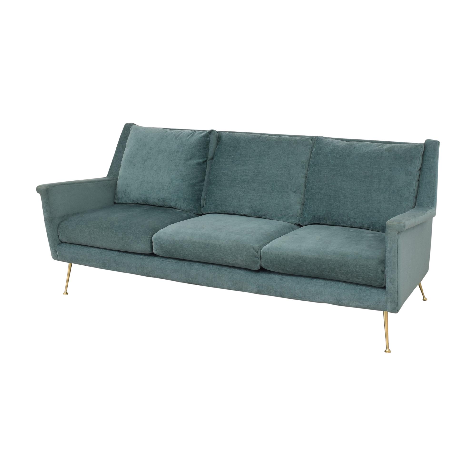 West Elm Carlo Mid Century Sofa sale