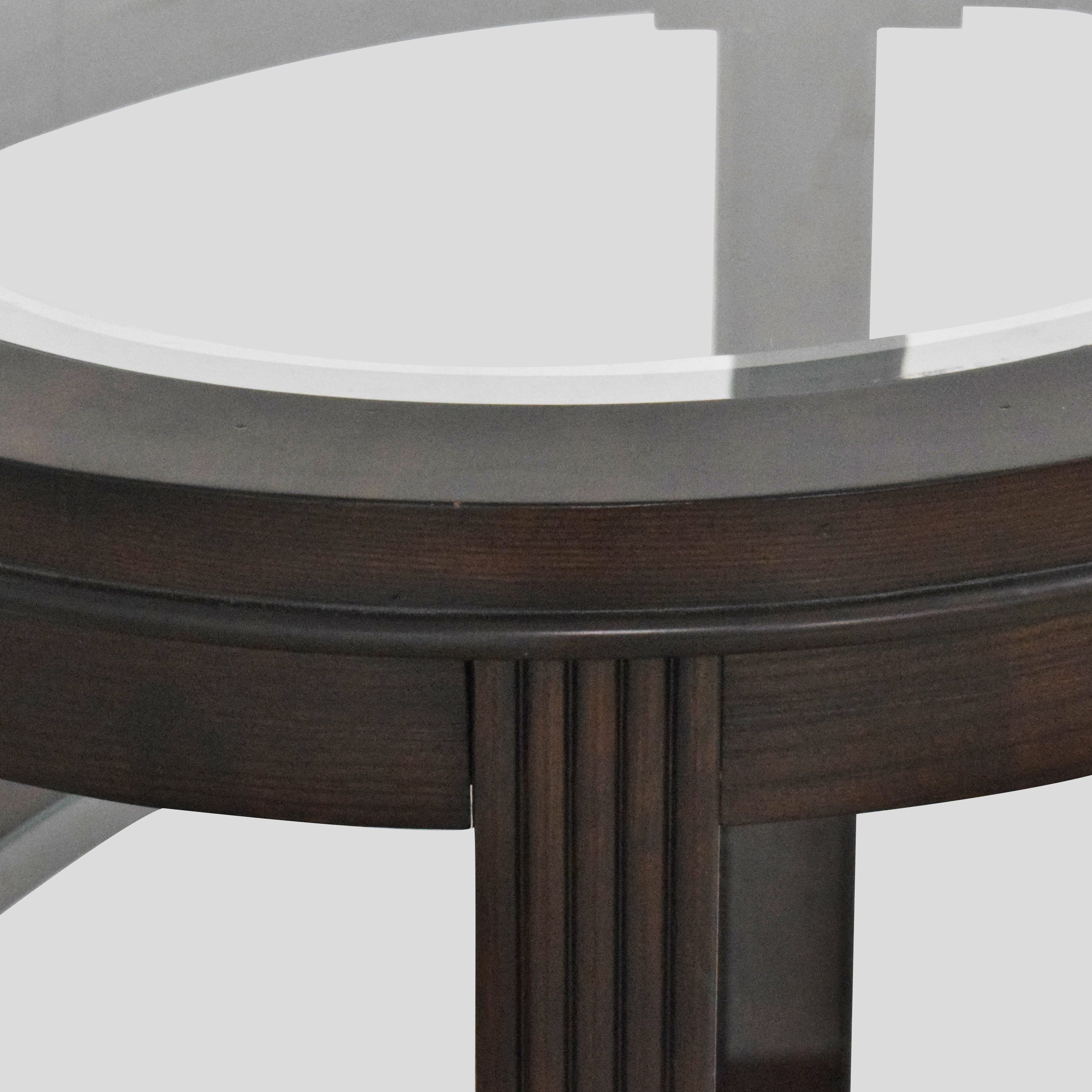 Three Tier Oval End Table / End Tables