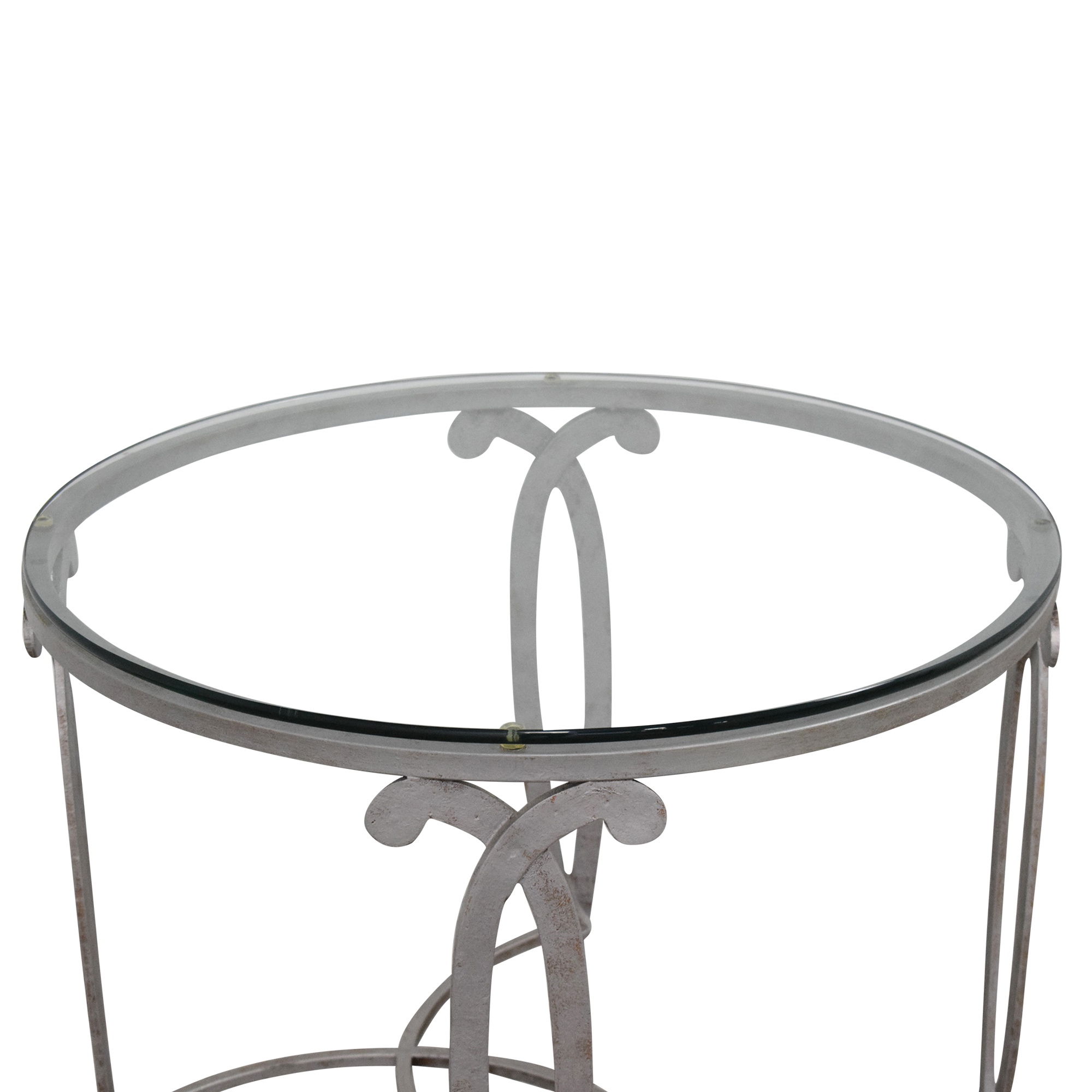 Round End Table discount