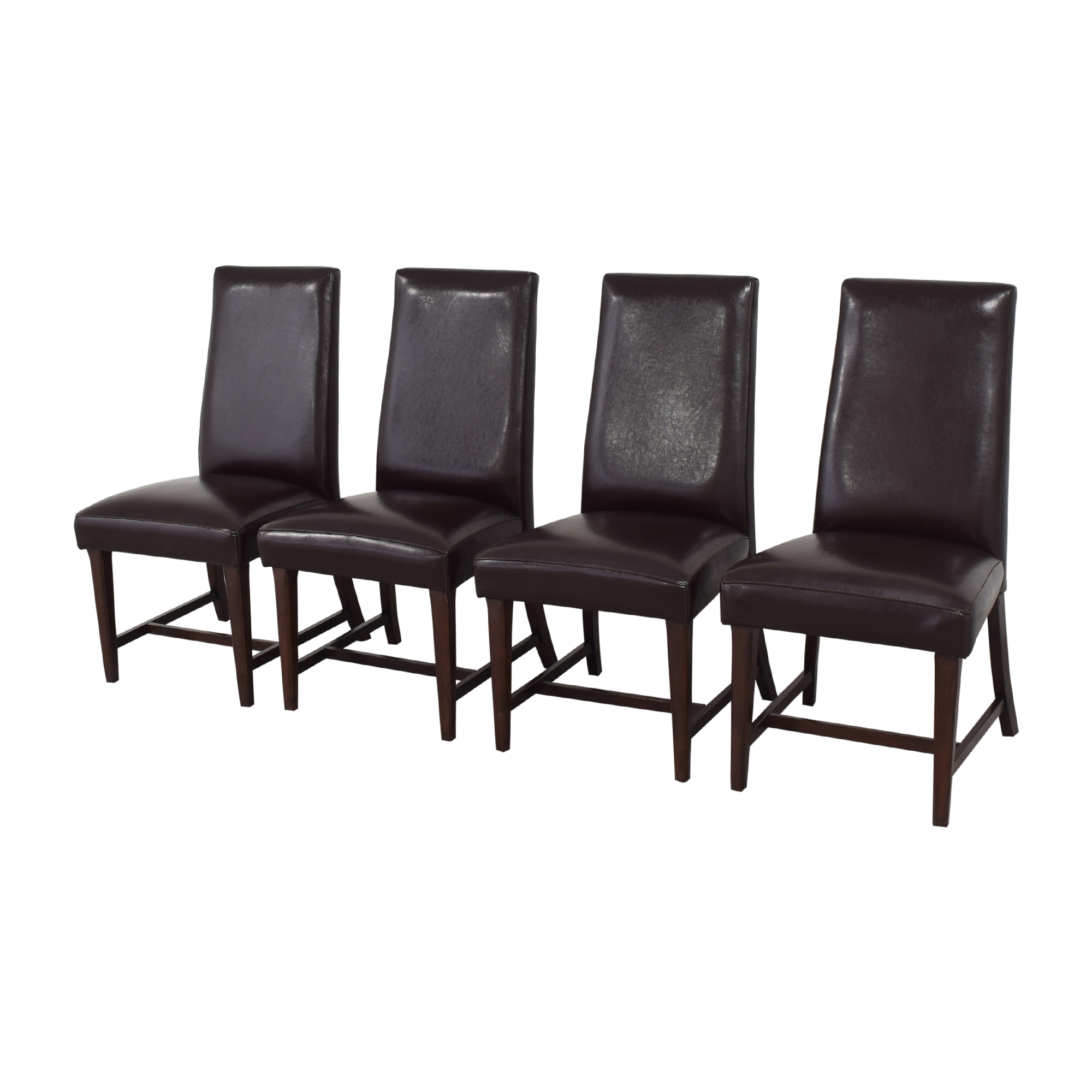 shop Shermag High Back Dining Chairs Shermag