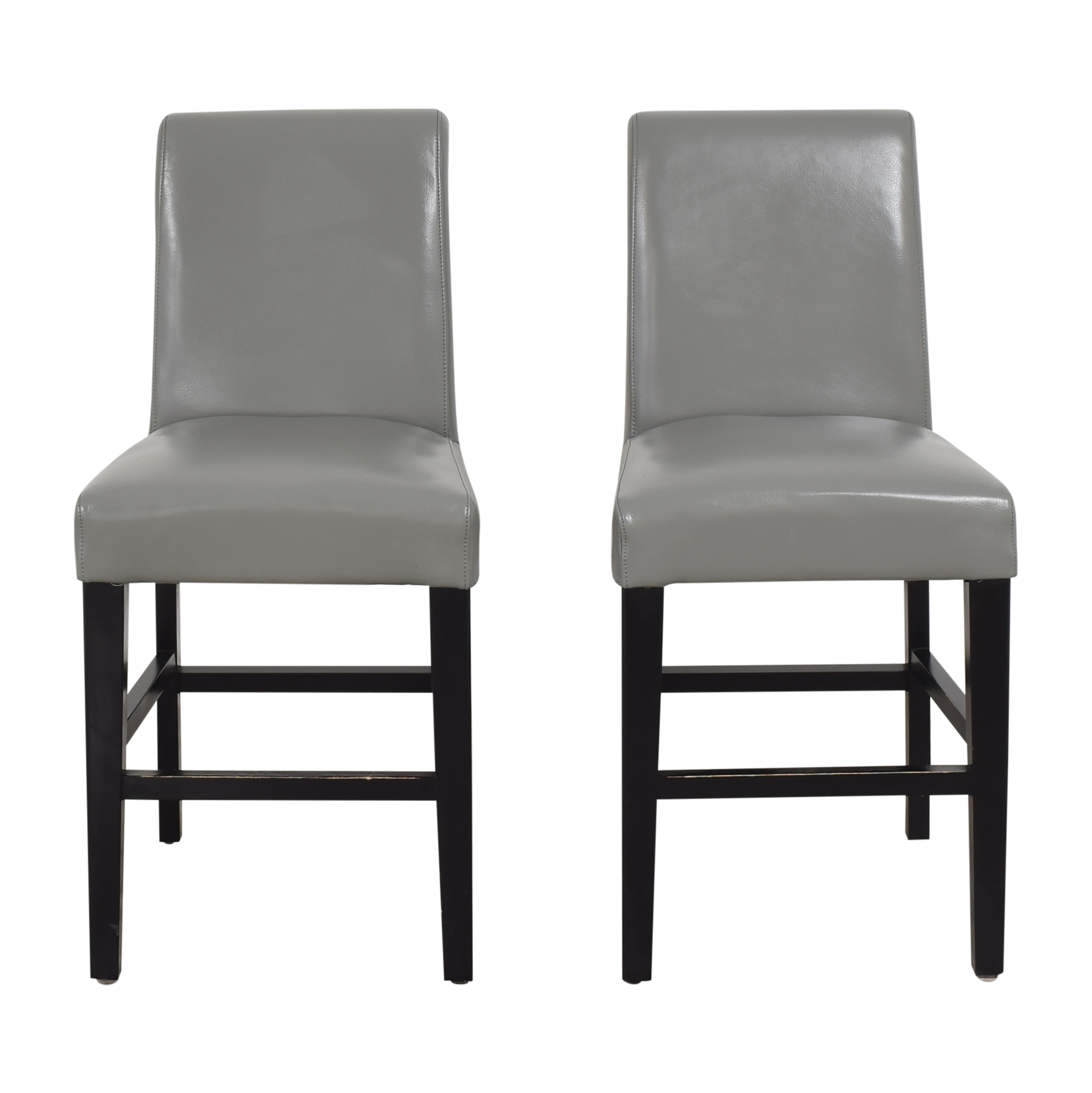 buy Upholstered Scroll Back Counter Stools  Stools