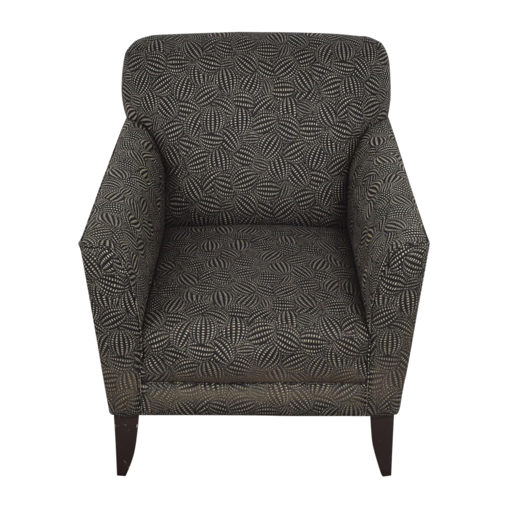 Modern Upholstered Arm Chair discount