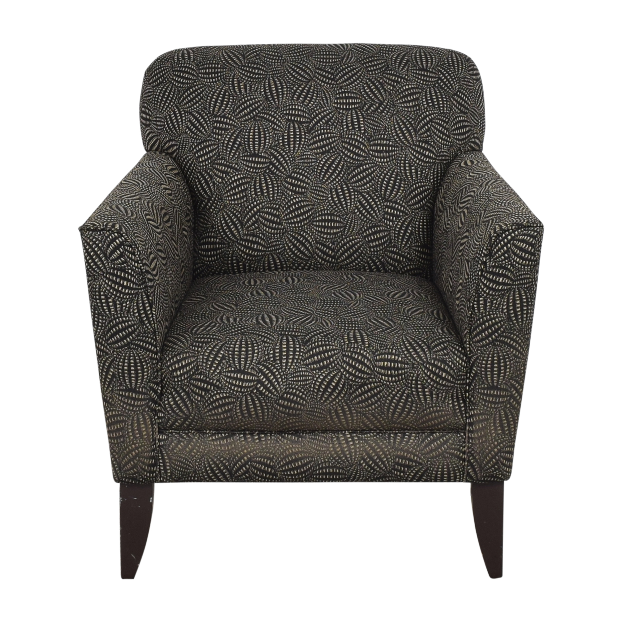 Modern Upholstered Arm Chair Chairs
