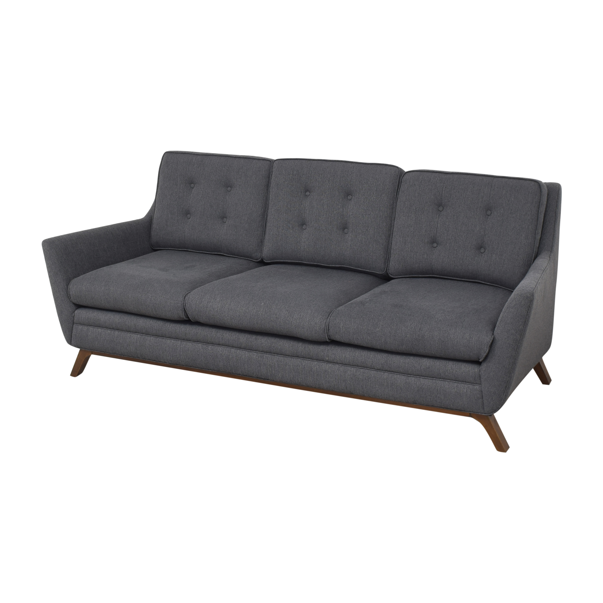 Modway Modway Beguile Tufted Sofa gray