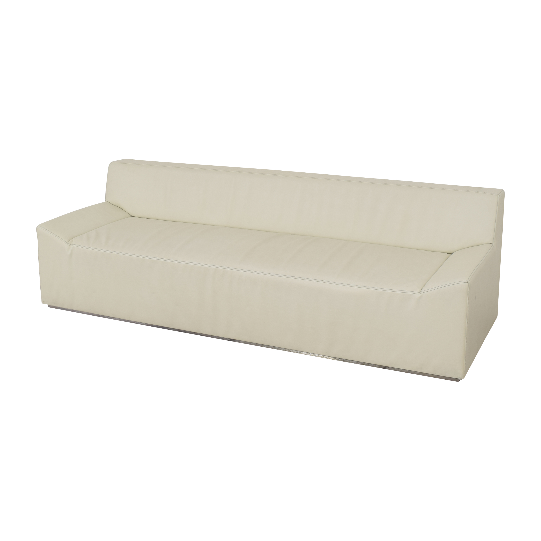 buy Blu Dot Blu Dot Couchoid Sofa with Blockoid Ottoman online