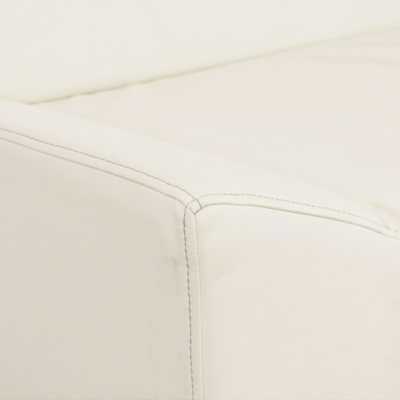 Blu Dot Blu Dot Couchoid Sofa with Blockoid Ottoman Classic Sofas