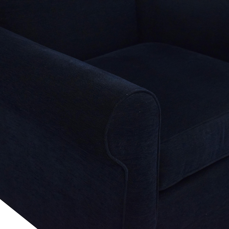 Bassett Furniture Bassett Accent Chair dark blue