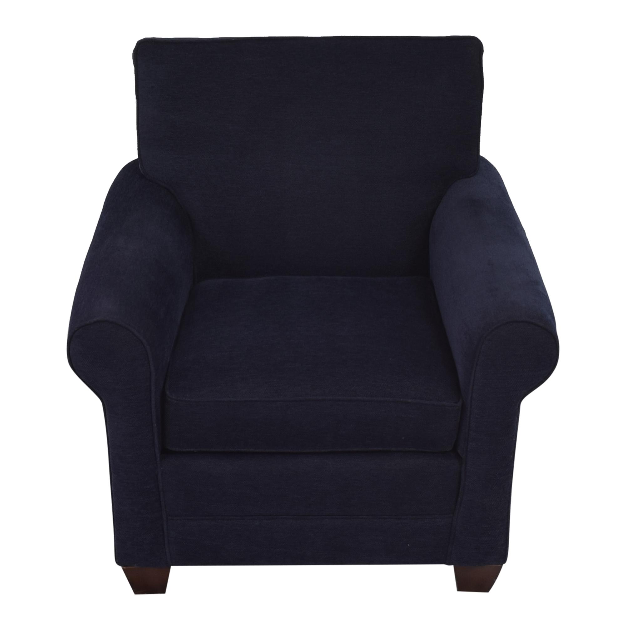 shop Bassett Furniture Bassett Furniture Roll Arm Accent Chair online