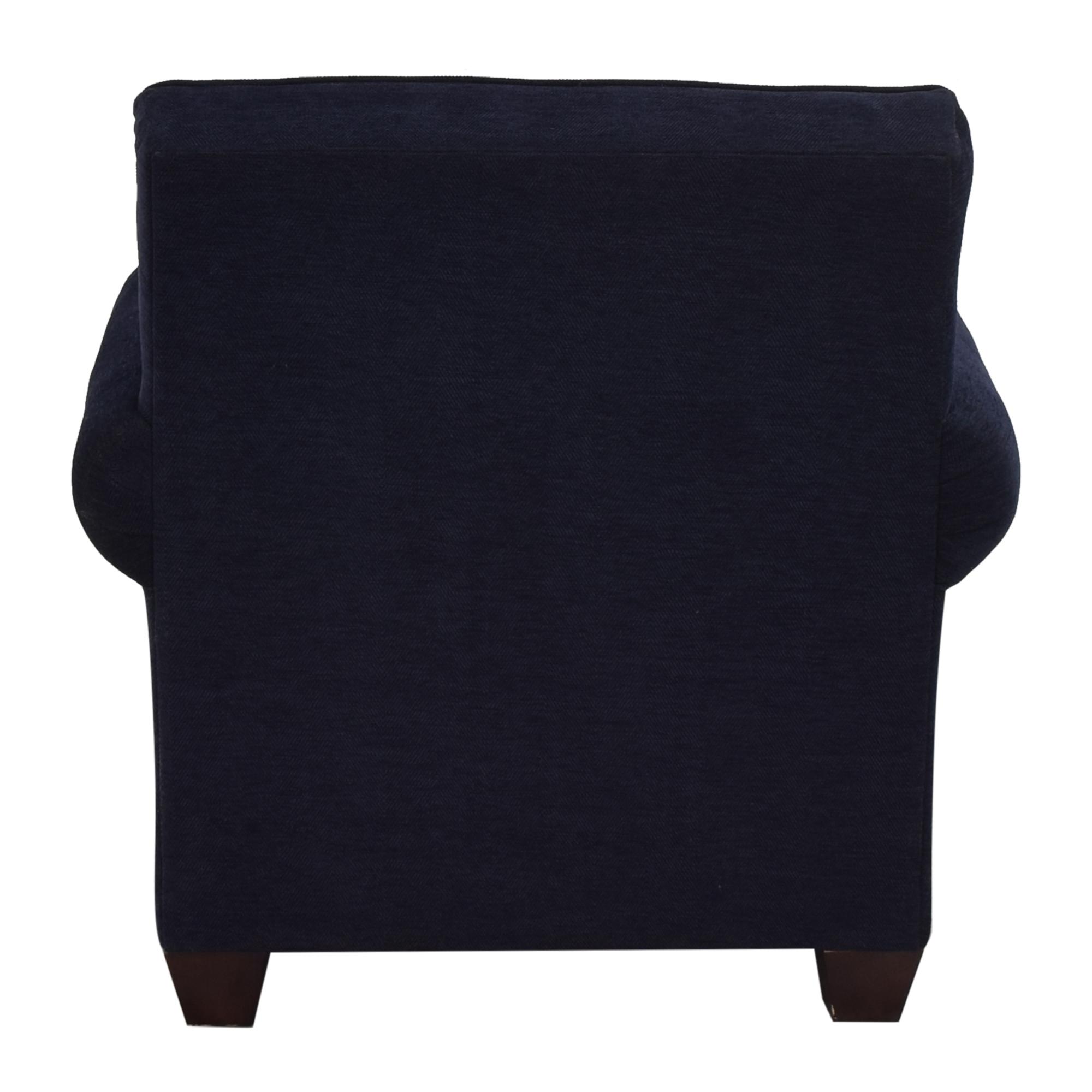 Bassett Furniture Bassett Furniture Roll Arm Accent Chair Accent Chairs
