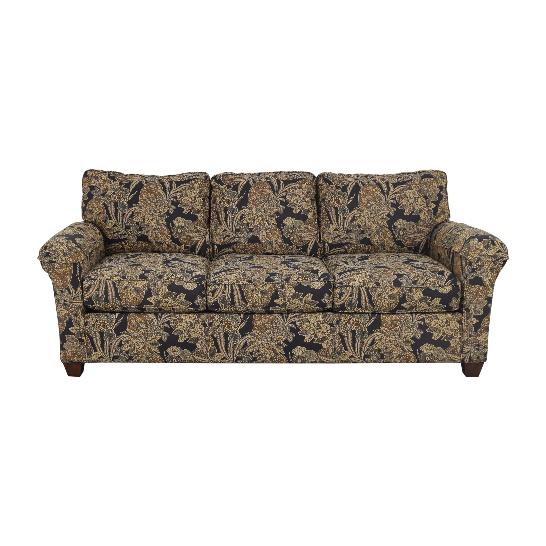 shop Bassett Furniture Bassett Furniture Three Cushion Sofa online
