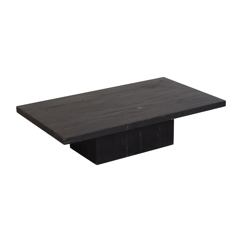 Restoration Hardware Restoration Hardware Reclaimed Plinth Coffee Table