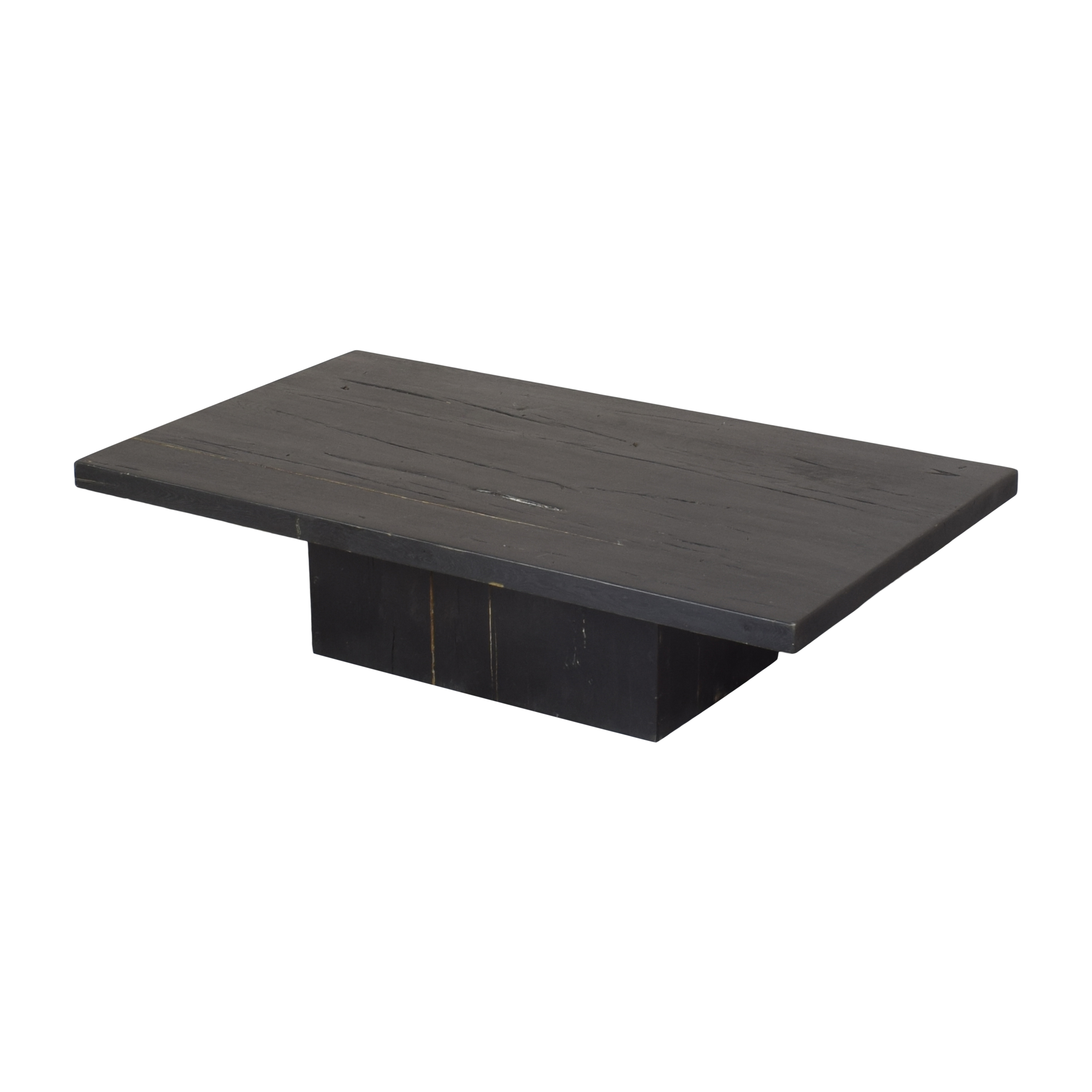 Restoration Hardware Reclaimed Plinth Coffee Table / Tables
