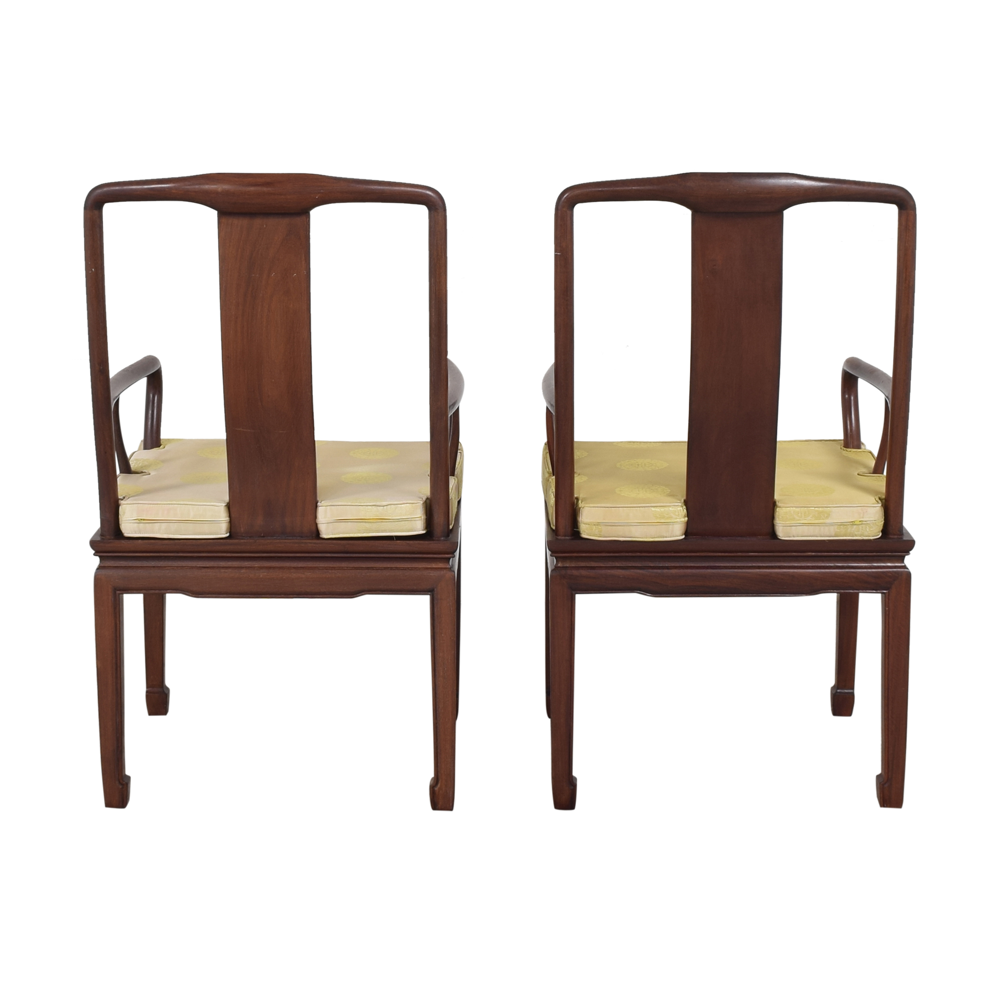buy Chinoiserie Dining Arm Chairs  Chairs
