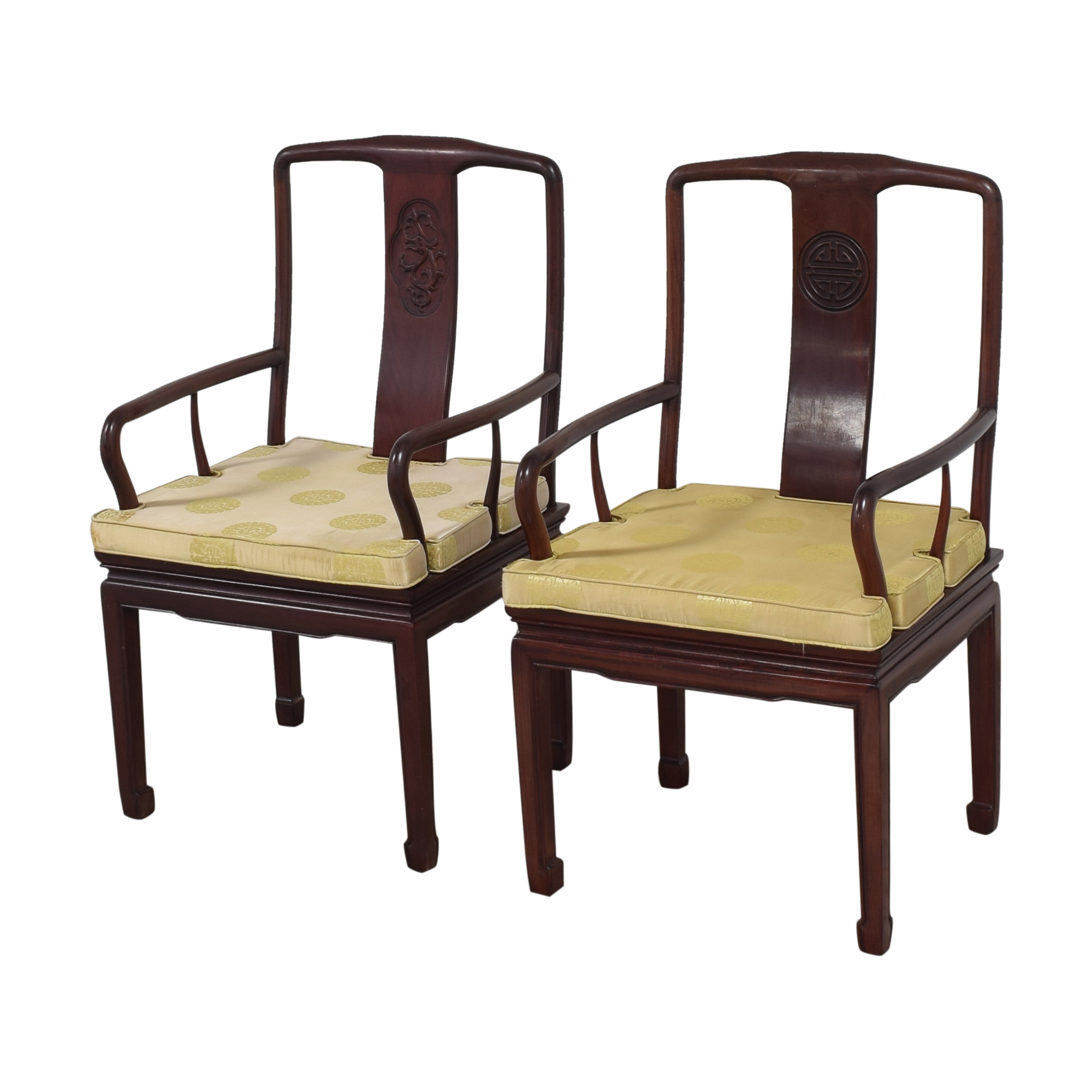 Chinoiserie Dining Arm Chairs coupon