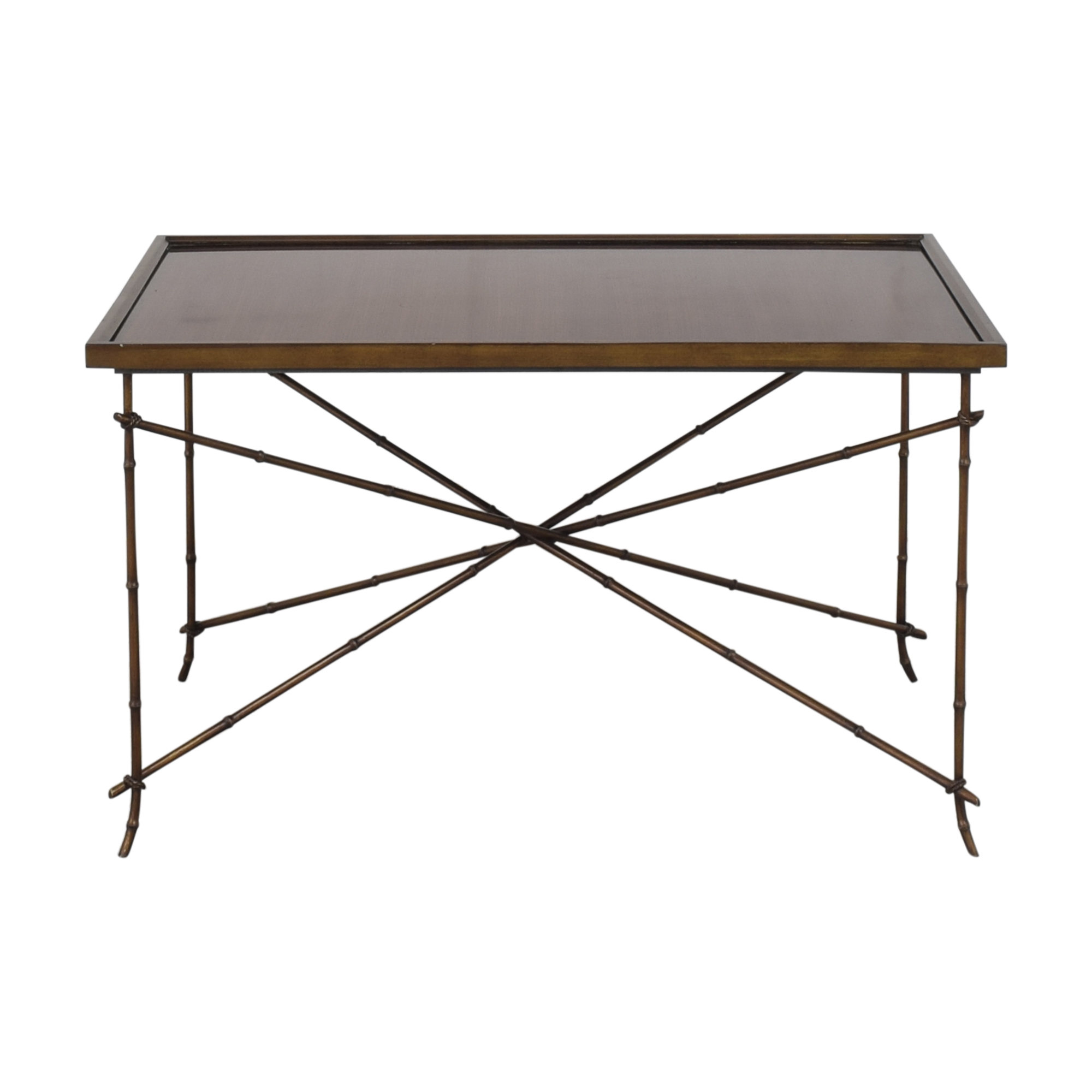 buy Hickory Chair Tray Top Coffee Table Hickory Chair