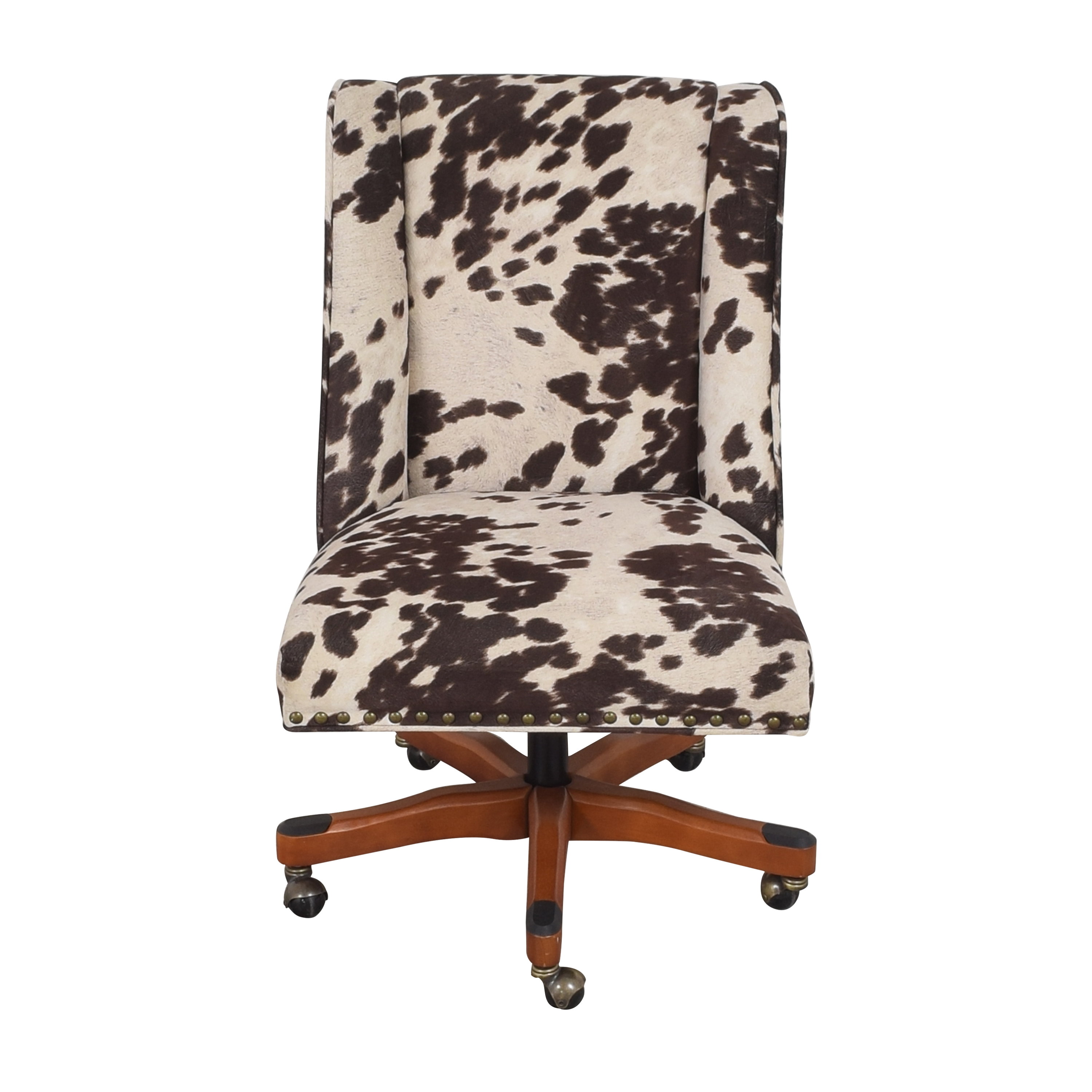 Linon Home Decor Linon Home Decor Wells Upholstered Swivel Office Chair ct