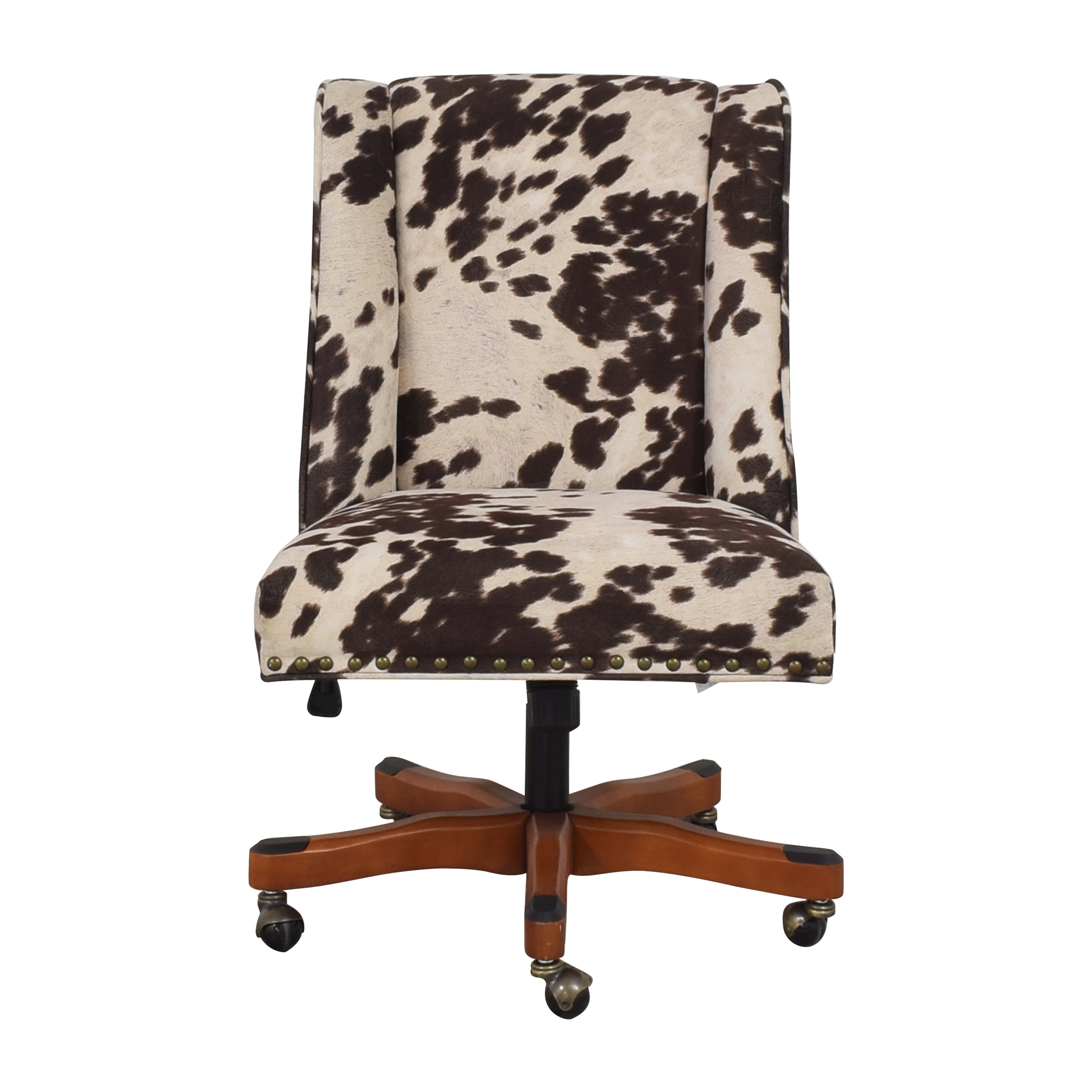 Linon Home Decor Linon Home Decor Wells Upholstered Swivel Office Chair for sale