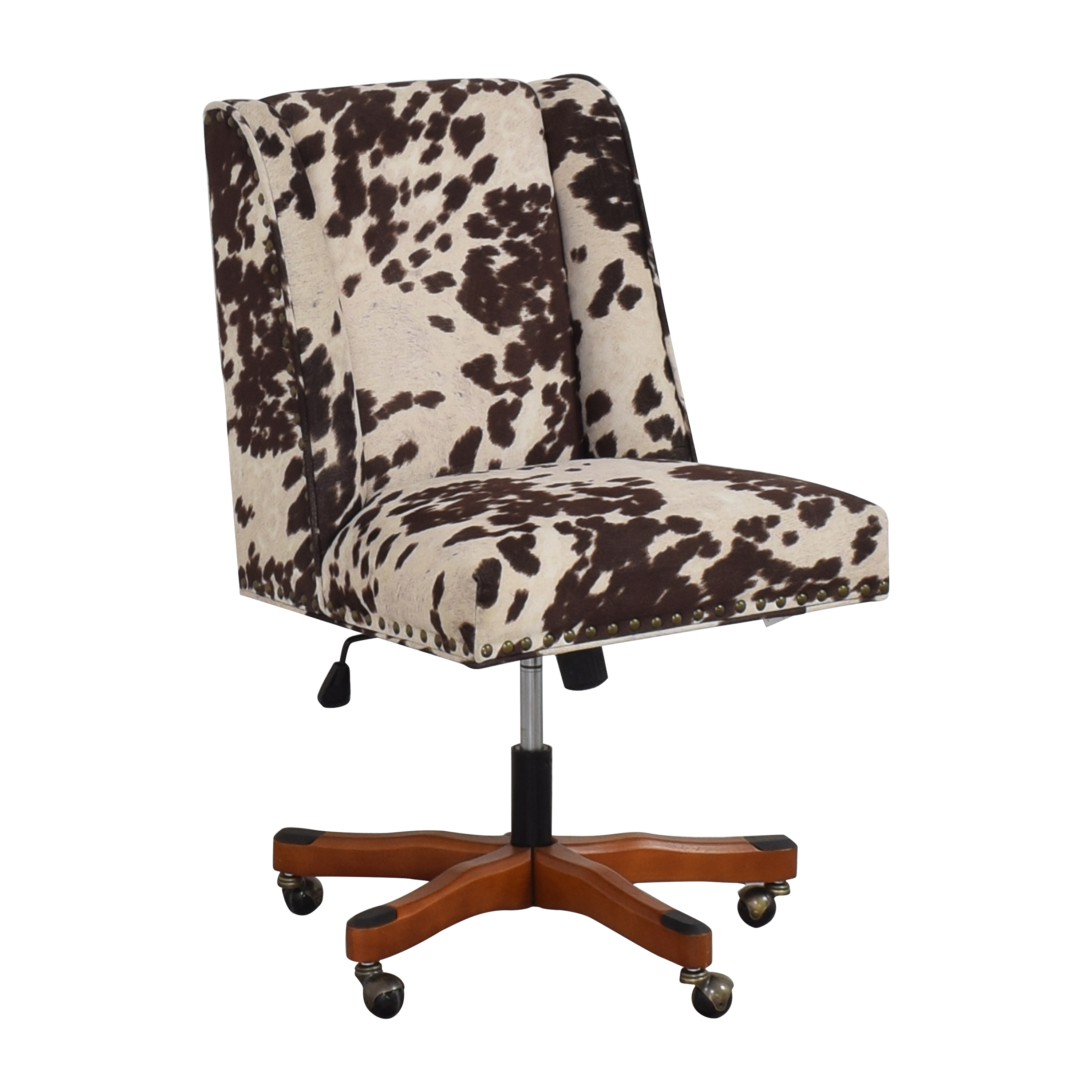 Linon Home Decor Linon Home Decor Wells Upholstered Swivel Office Chair used