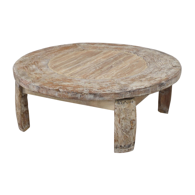 Pottery Barn Pottery Barn Bullock Wagon Wheel Table nyc