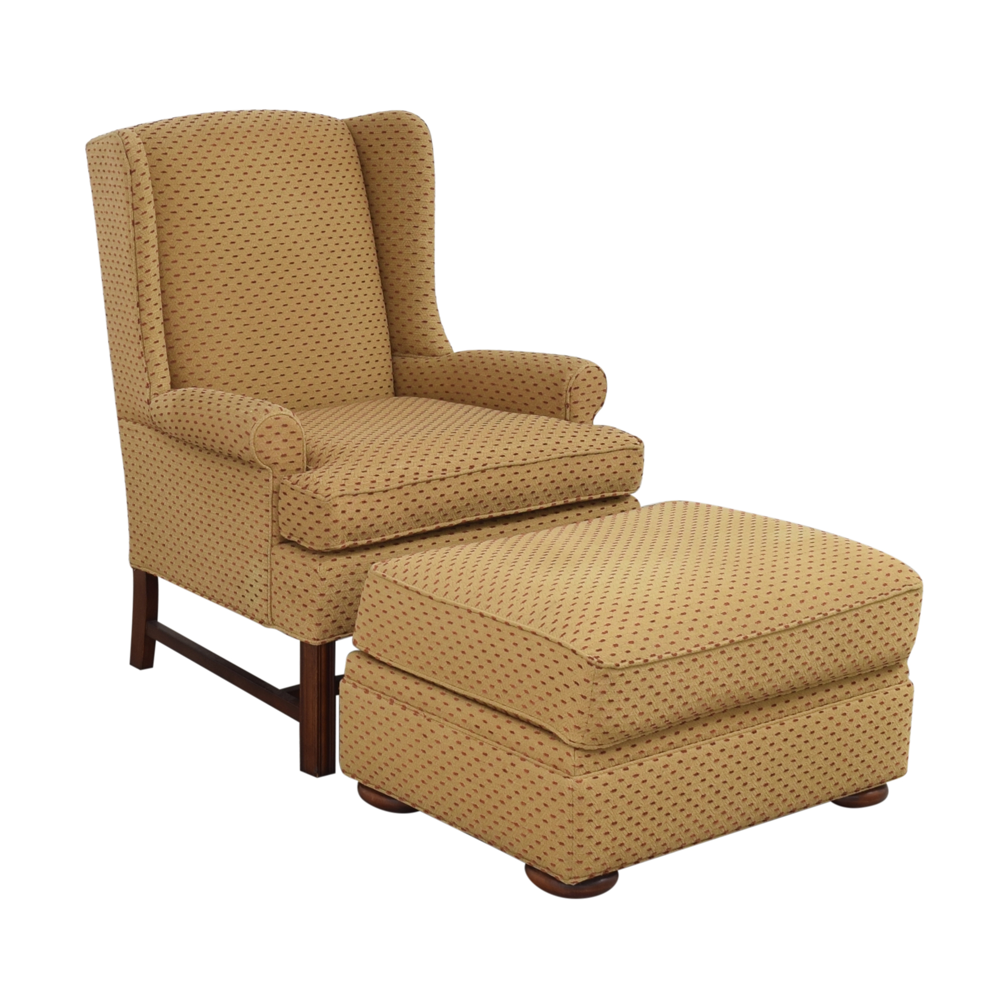 Thomasville Thomasville Accent Chair with Ottoman pa