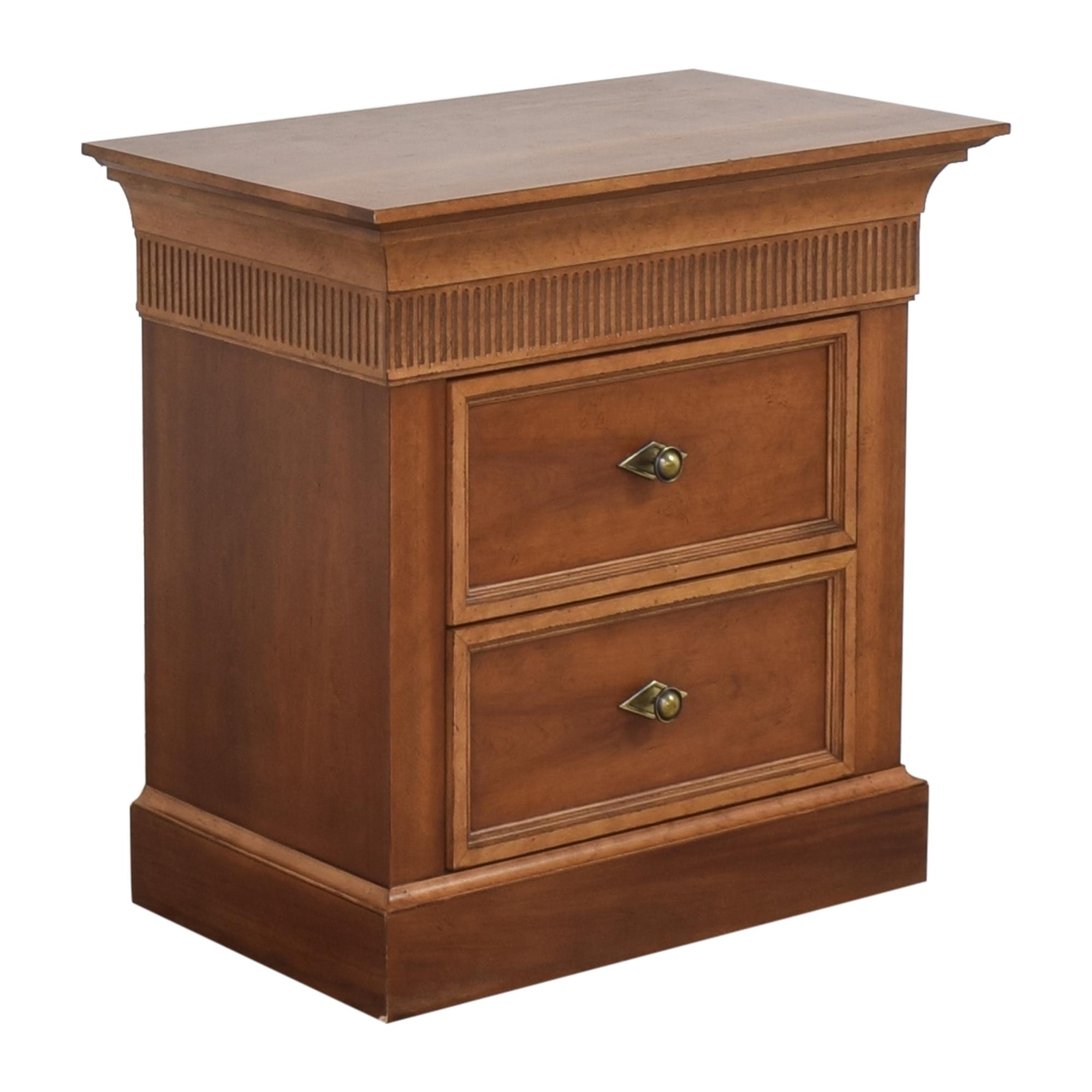 shop Lane Furniture Two Drawer Nightstand Lane Furniture Storage