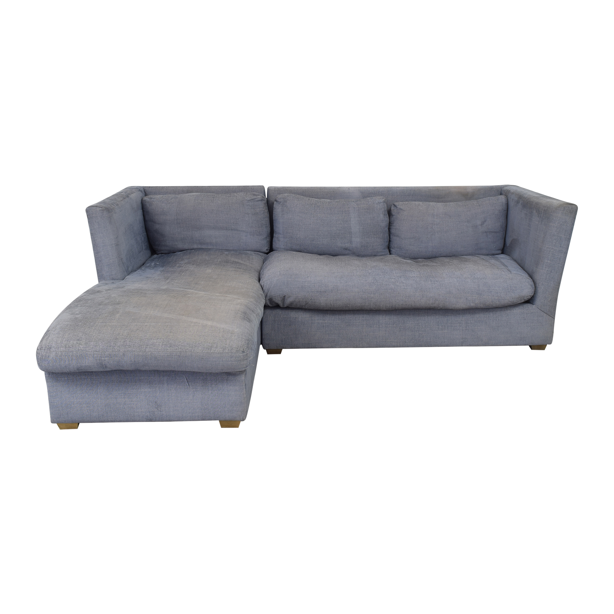 buy Restoration Hardware Chaise Sectional Sofa Restoration Hardware Sofas