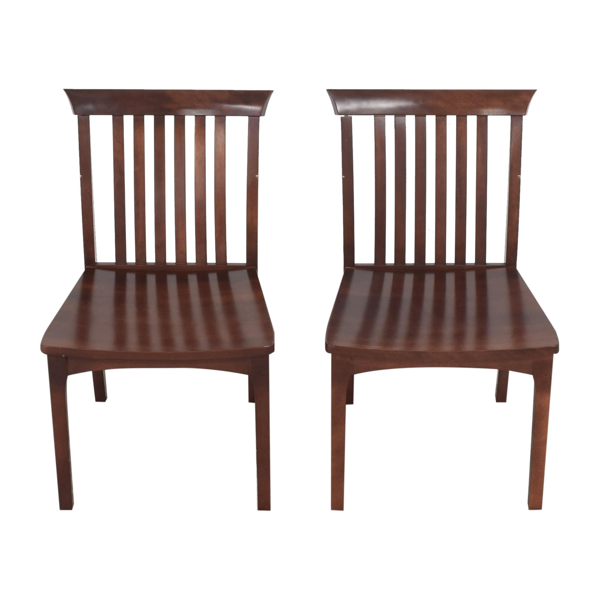 Pompanoosuc Mills Pompanoosuc Mills Goddard Dining Side Chairs brown