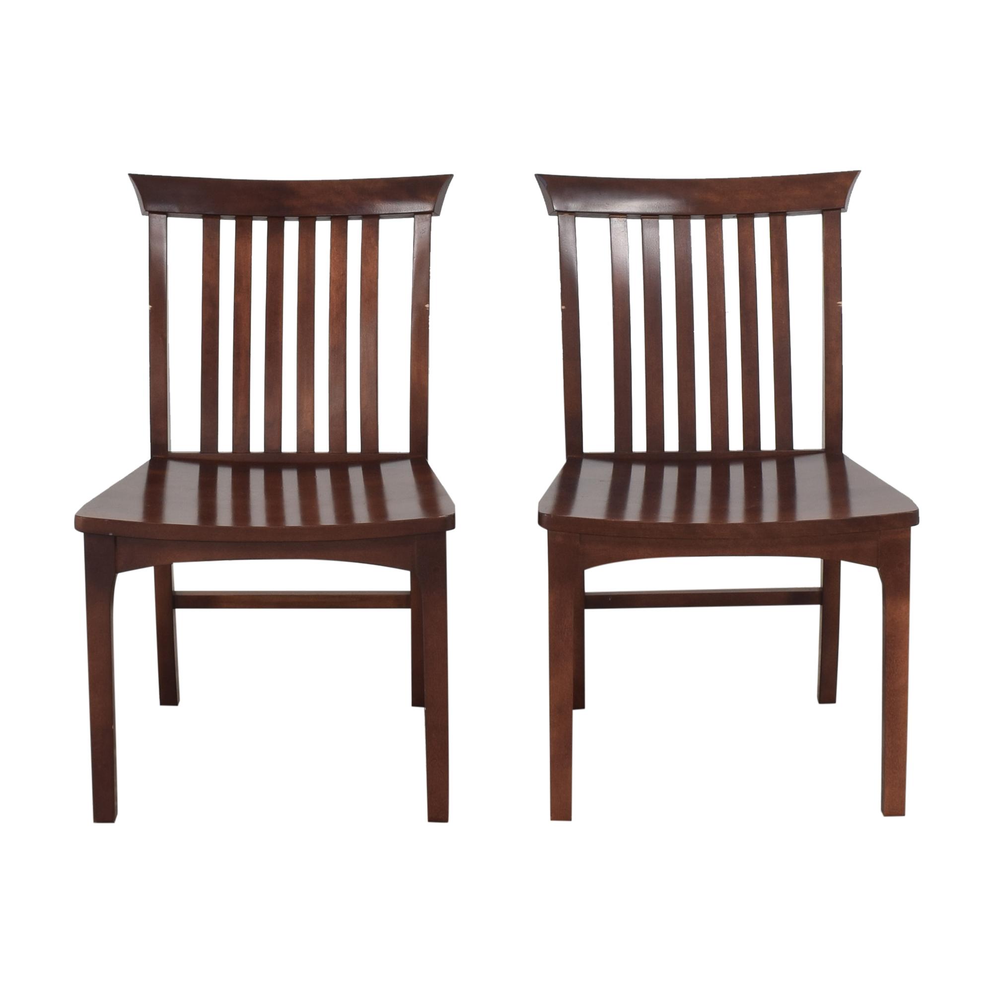 buy Pompanoosuc Mills Goddard Dining Side Chairs Pompanoosuc Mills Dining Chairs