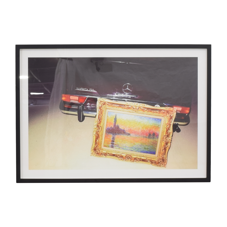 Show Me the Monet Framed Wall Art ma
