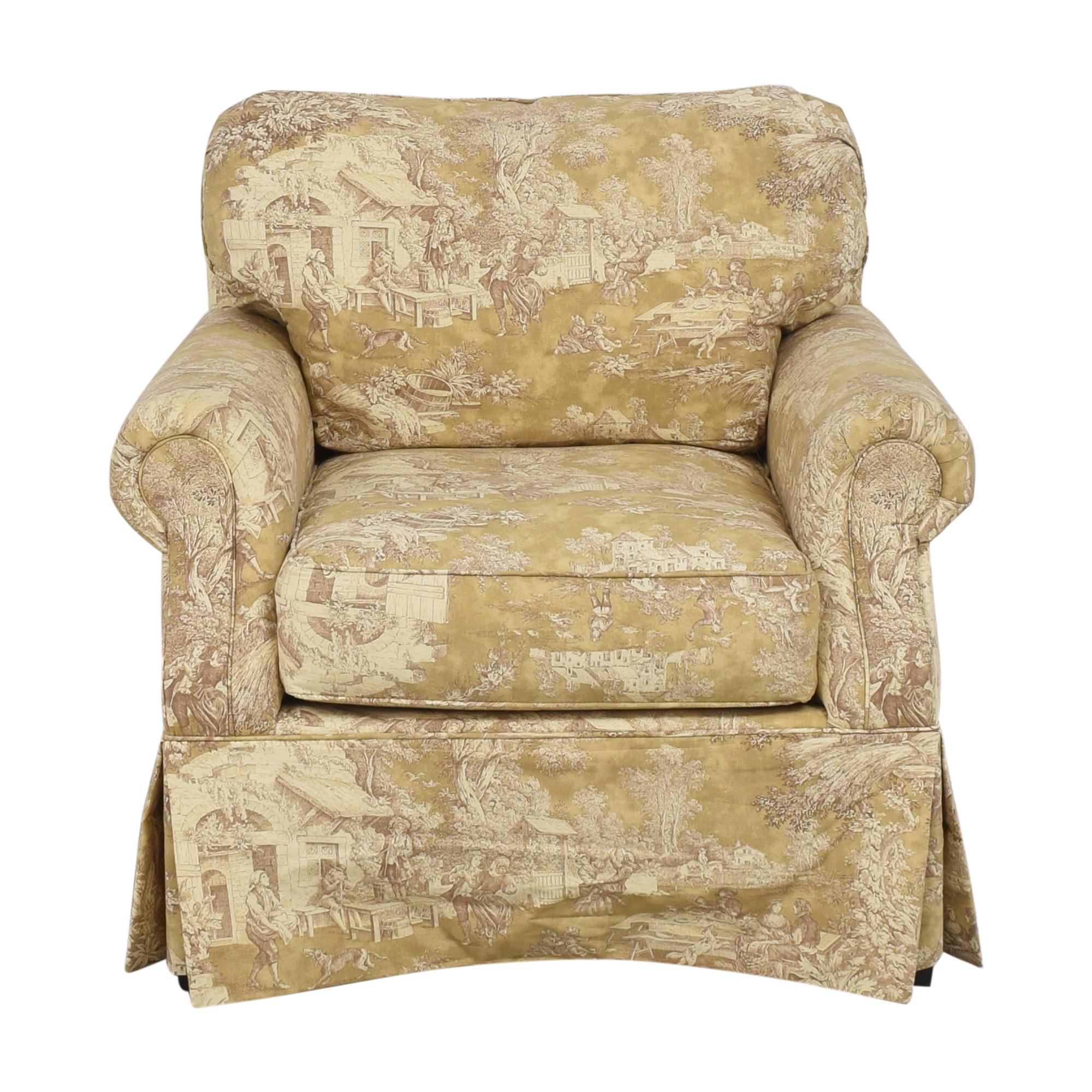 shop Domain Home Toile Club Chair Domain Home Chairs