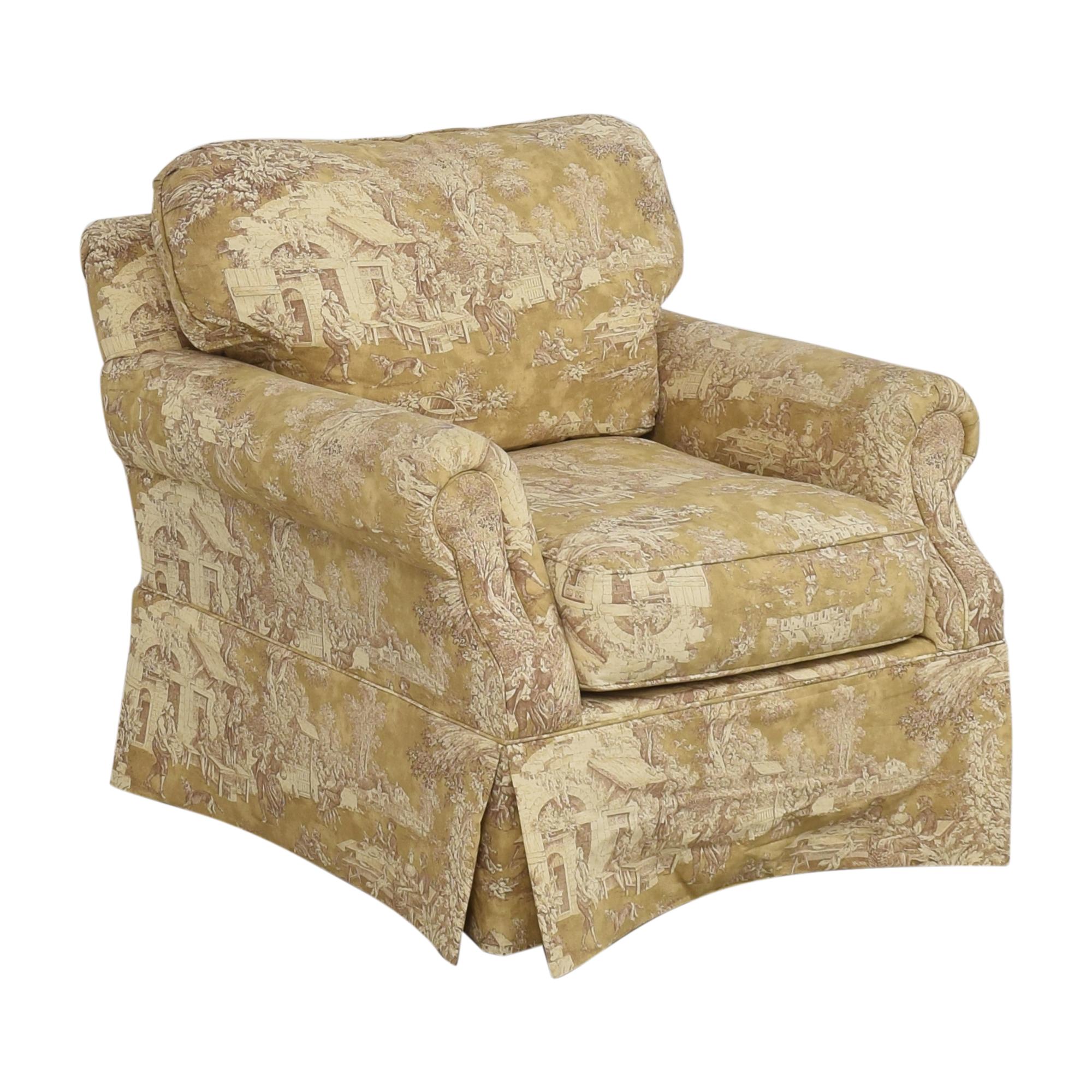 Domain Home Domain Home Toile Club Chair for sale